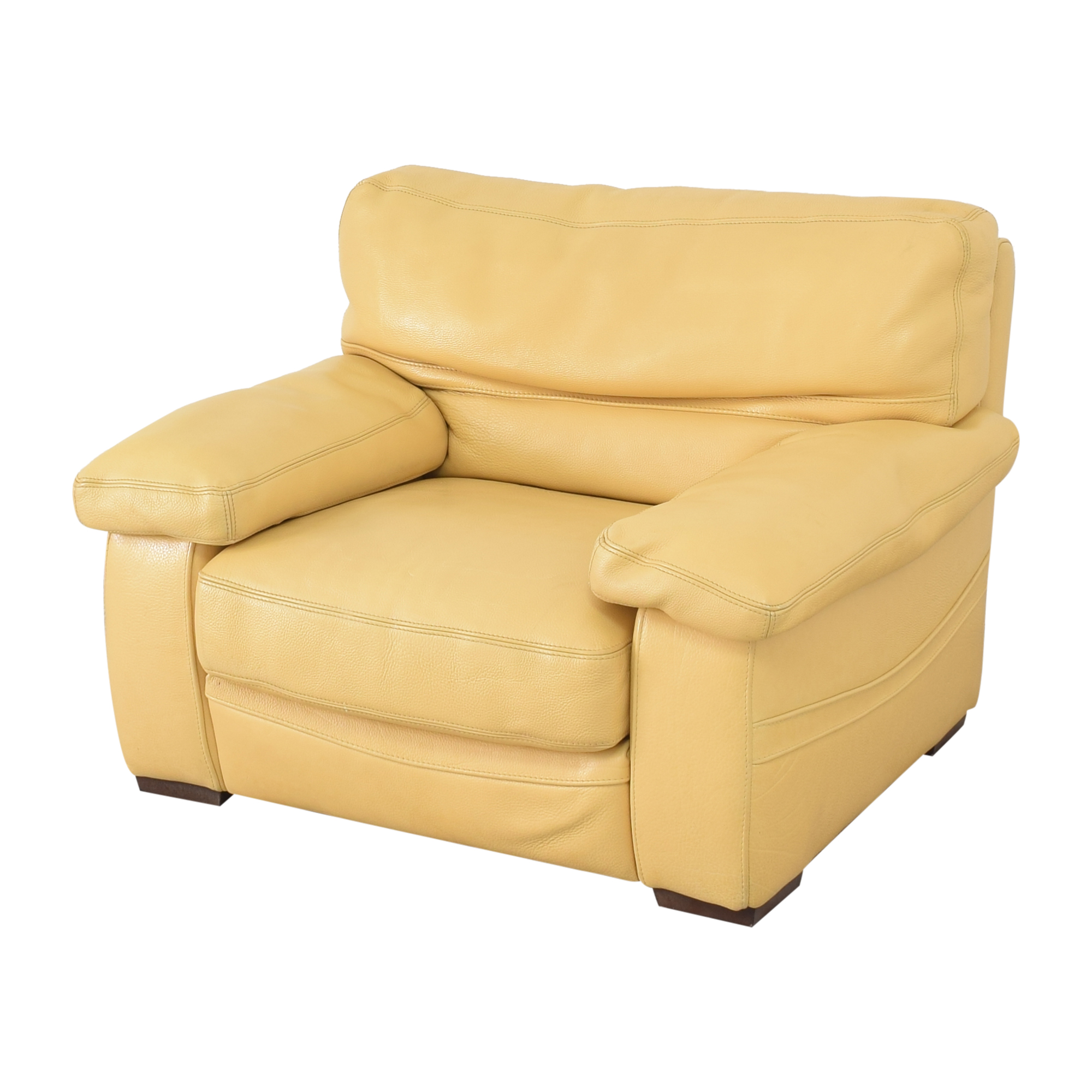 Roche Bobois Roche Bobois Accent Armchair with Ottoman price