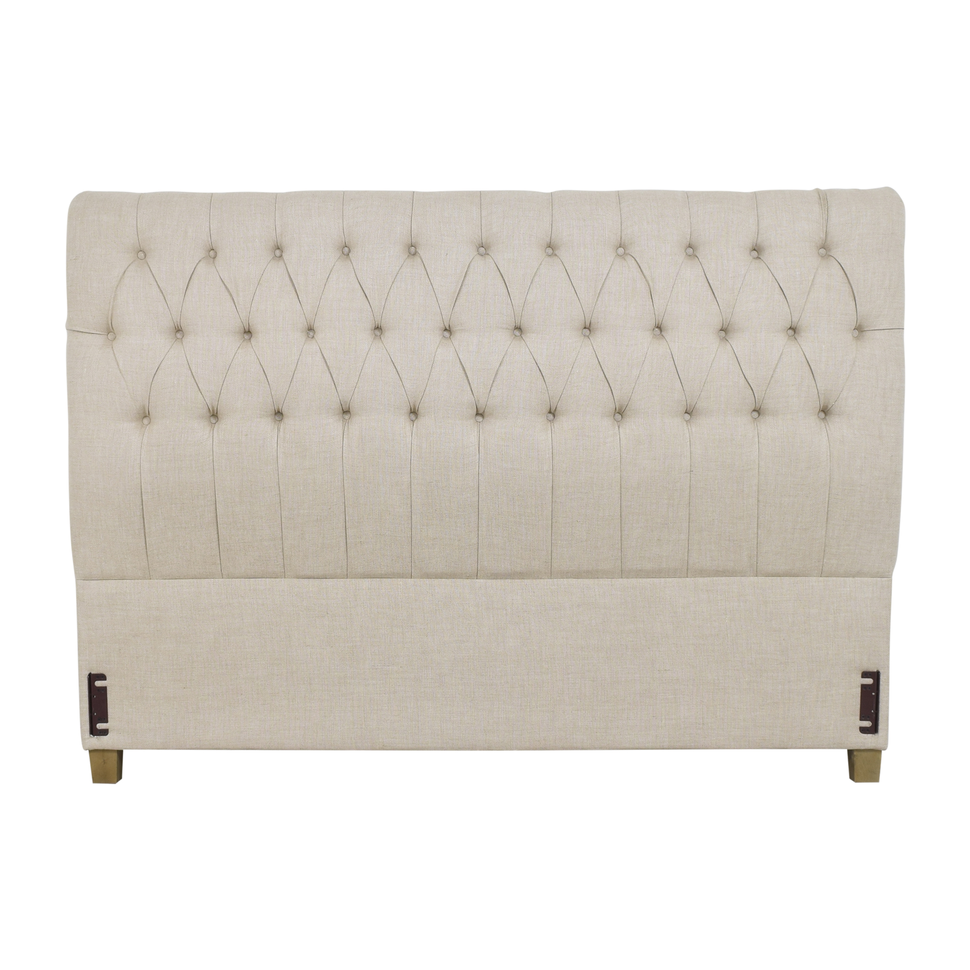buy Restoration Hardware Tufted King Headboard Restoration Hardware