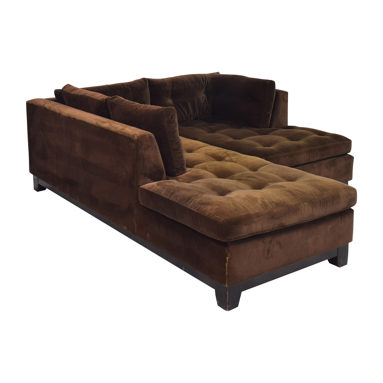 shop ABC Carpet & Home ABC Carpet & Home Tacchni Chaise Sectional Sofa online