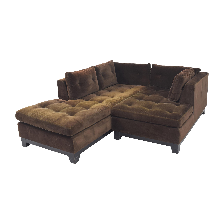 ABC Carpet & Home ABC Carpet & Home Tacchni Chaise Sectional Sofa coupon