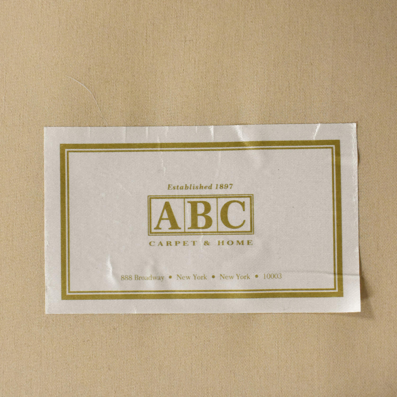 ABC Carpet & Home ABC Carpet & Home Tacchni Chaise Sectional Sofa second hand