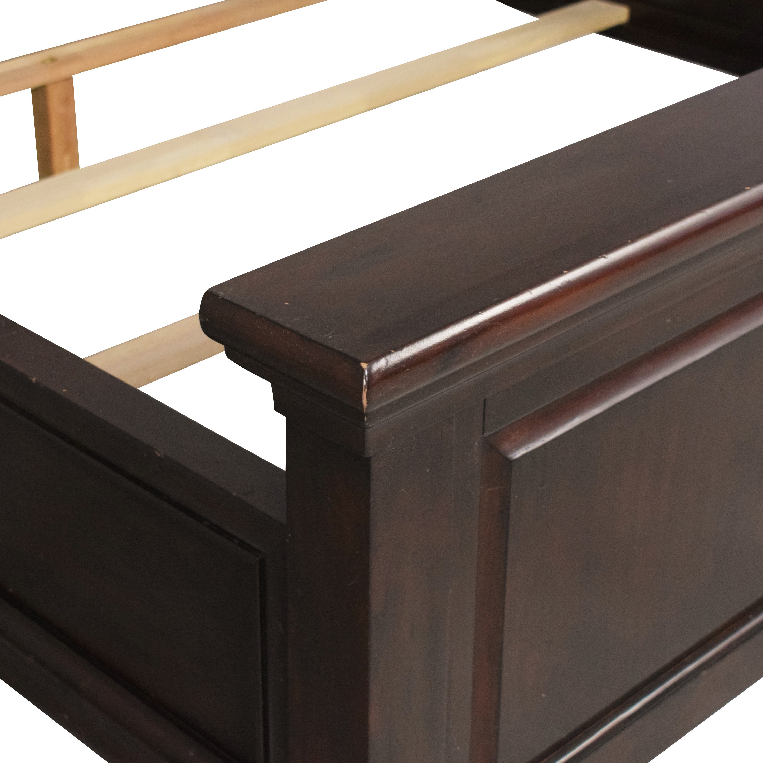 buy Pottery Barn Hudson Queen Bed  Pottery Barn Beds