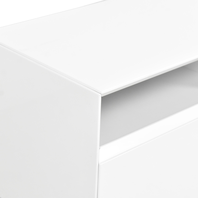 J&M Furniture J&M Furniture Modern TV Stand white
