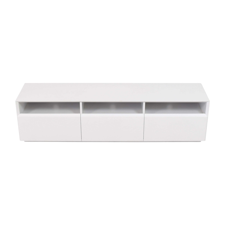 J&M Furniture J&M Furniture Modern TV Stand dimensions