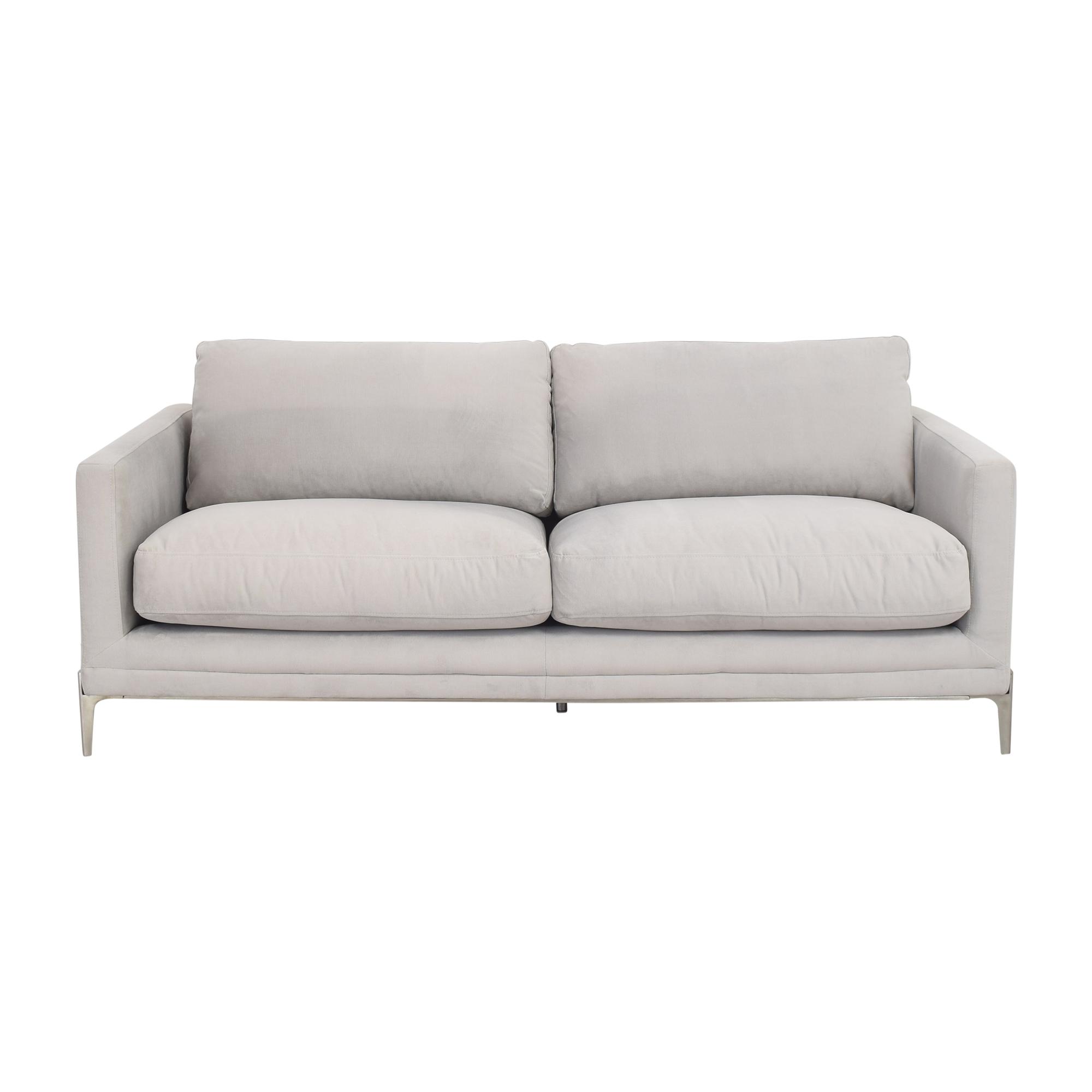 Sunpan Sunpan Two Cushion Modern Sofa pa