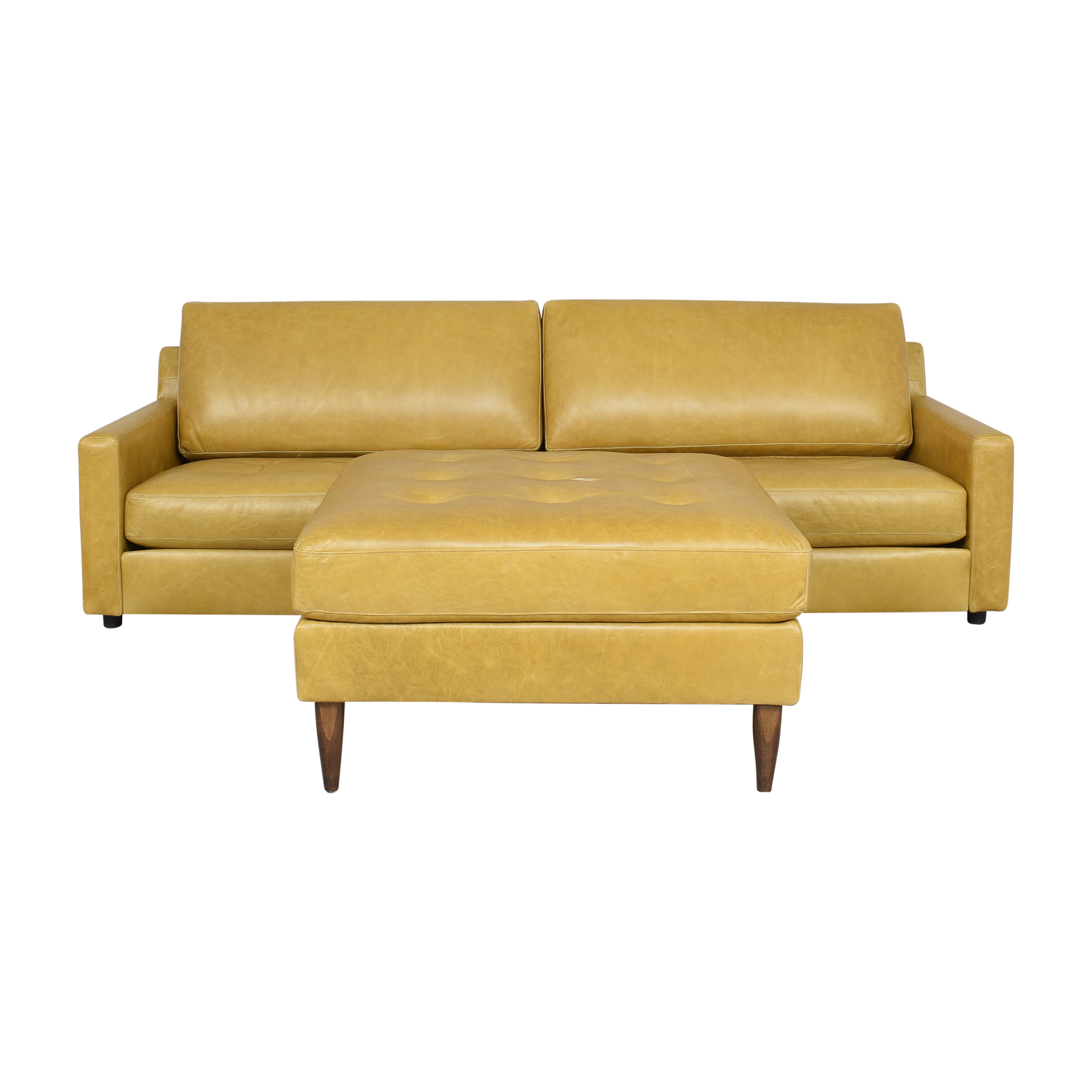 BenchMade Modern BenchMade Modern Skinny Fat Sofa and Ottoman Classic Sofas