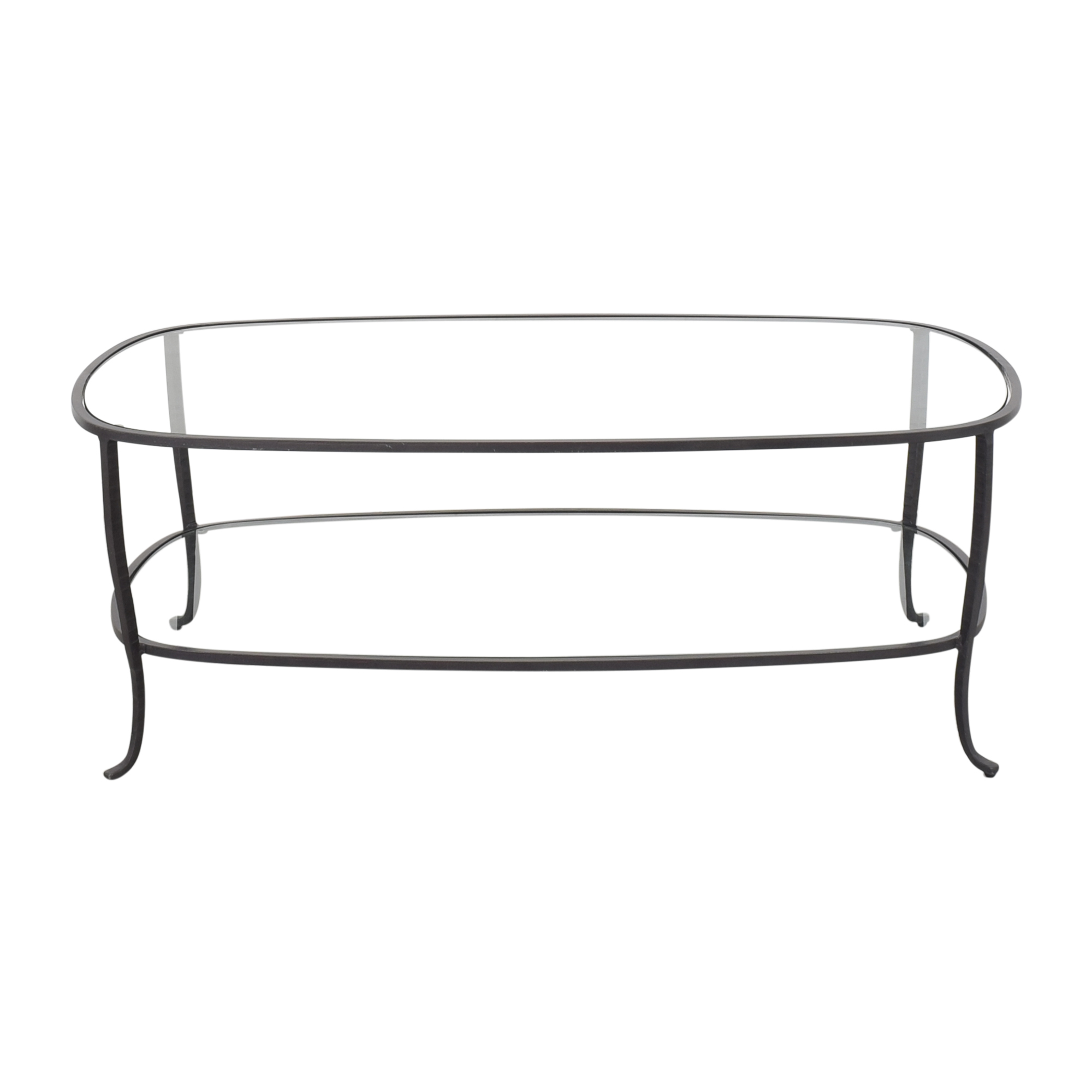 buy Pottery Barn Oval Coffee Table Pottery Barn