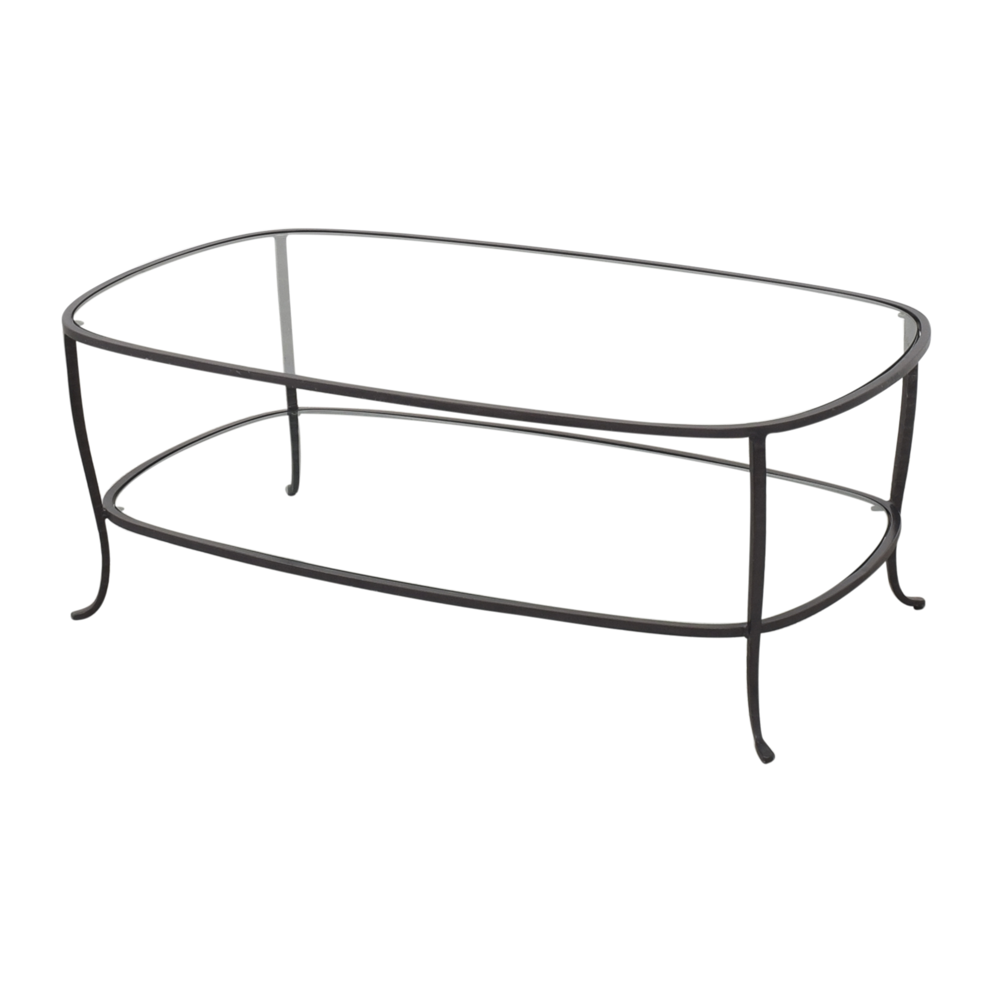 Pottery Barn Pottery Barn Oval Coffee Table nyc
