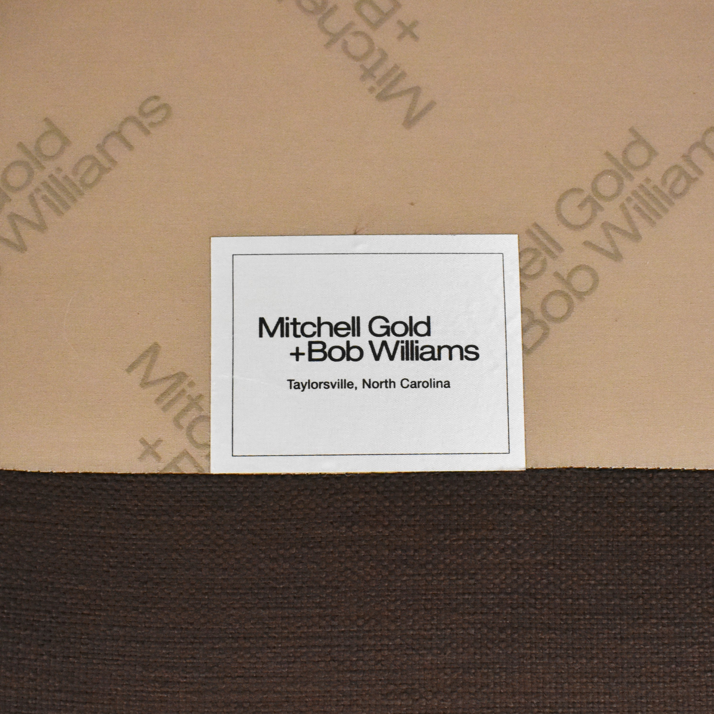 Mitchell Gold + Bob Williams Mitchell Gold + Bob Williams Ellis Chair with Ottoman for sale