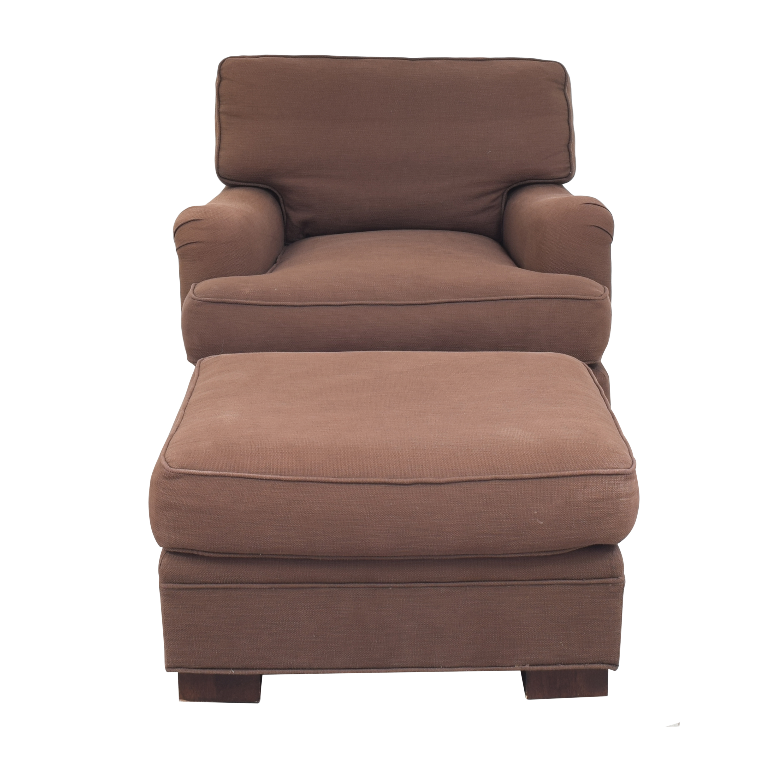 buy Mitchell Gold + Bob Williams Ellis Chair with Ottoman Mitchell Gold + Bob Williams Chairs