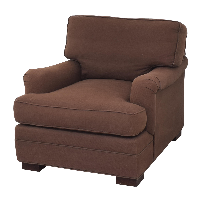 shop Mitchell Gold + Bob Williams Ellis Chair with Ottoman Mitchell Gold + Bob Williams Accent Chairs