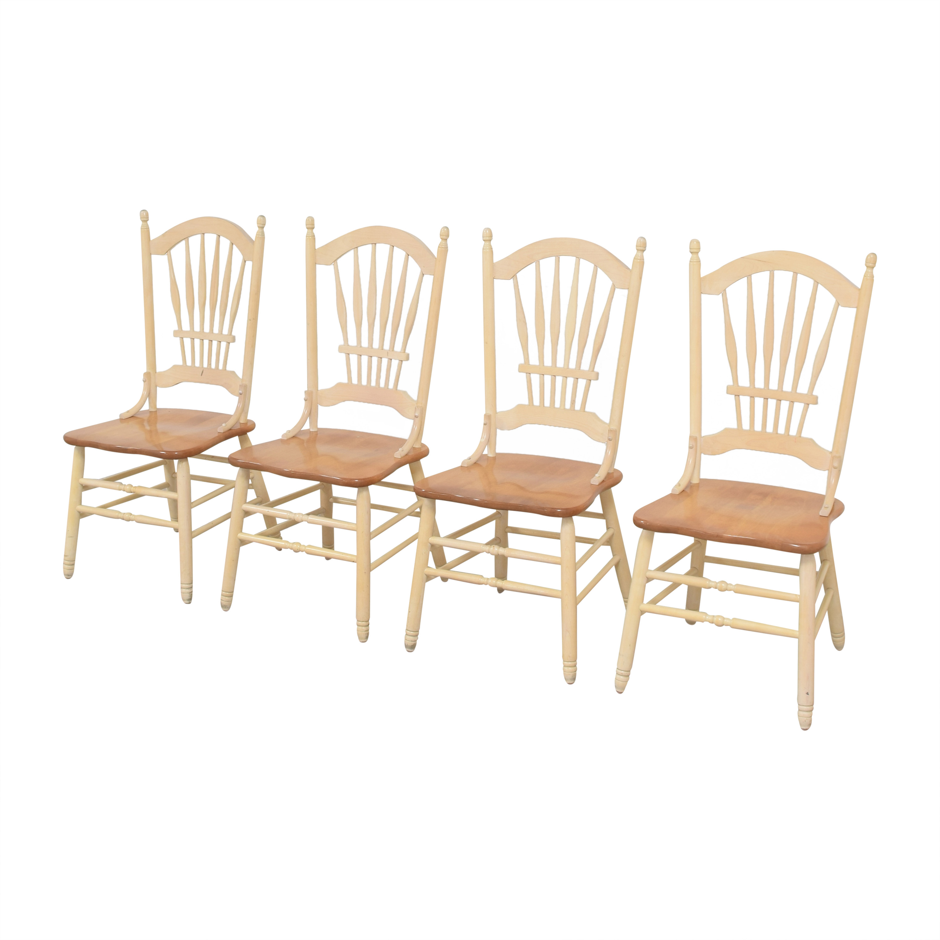 shop Country White Dining Chairs  Dining Chairs