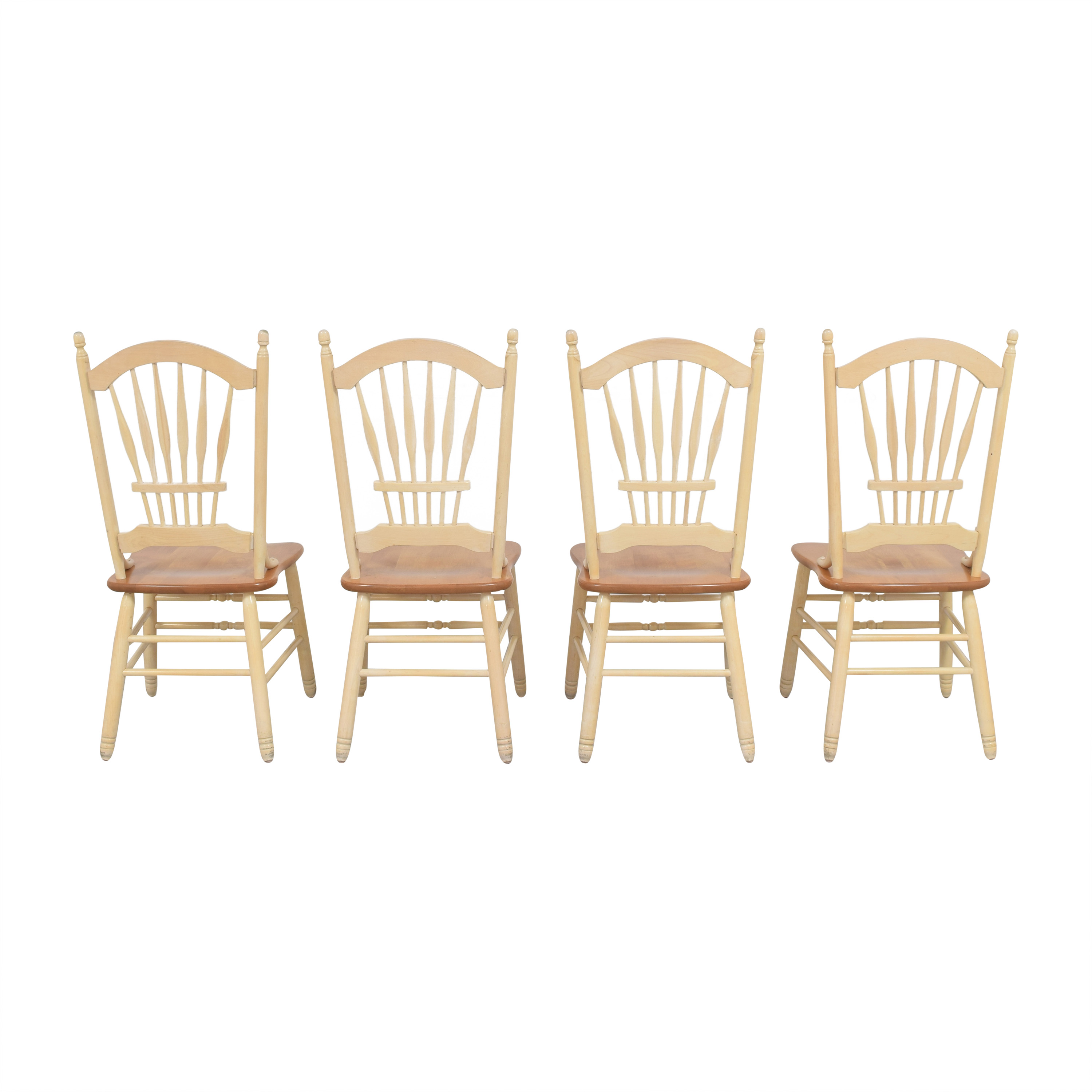 buy Country White Dining Chairs  Dining Chairs