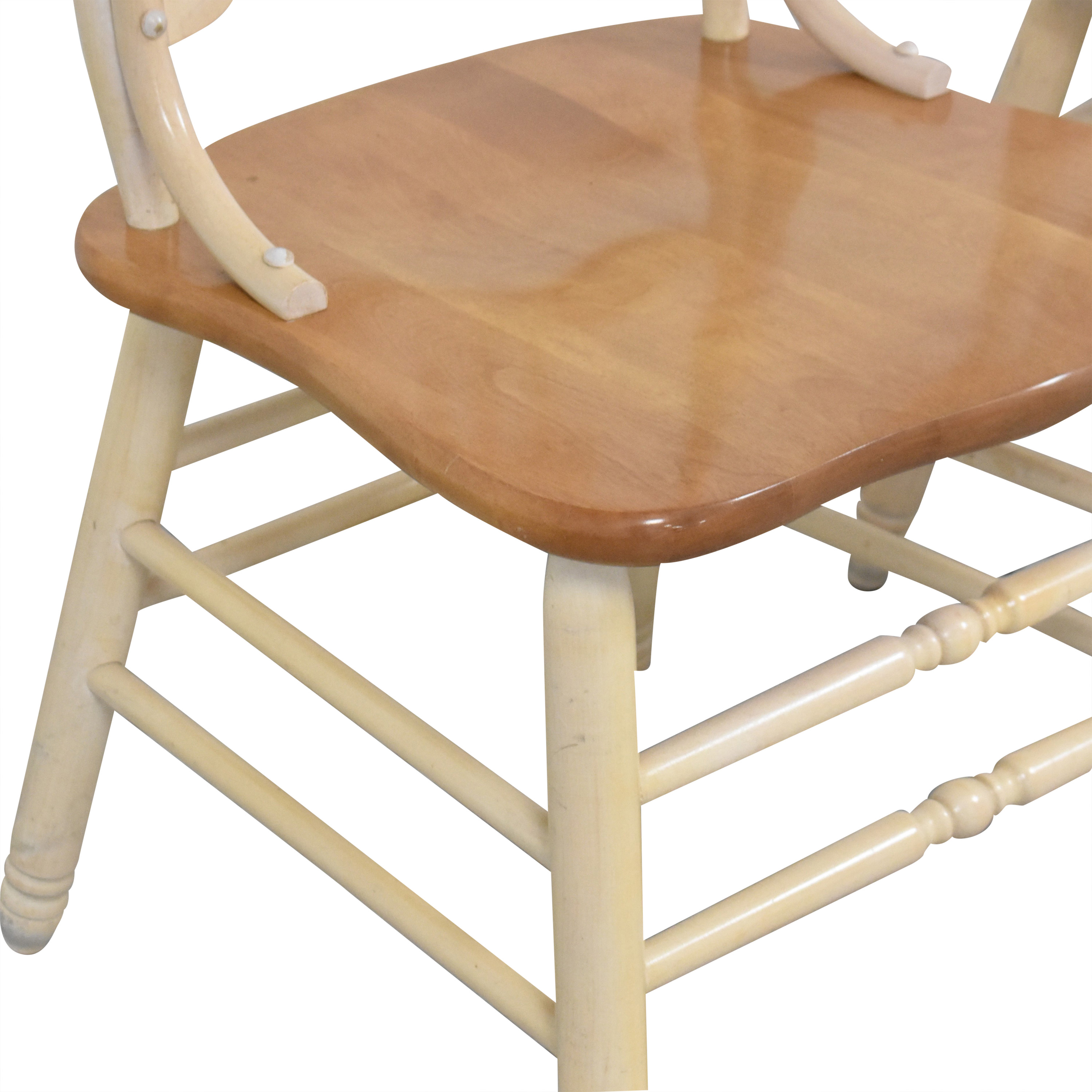 Country White Dining Chairs
