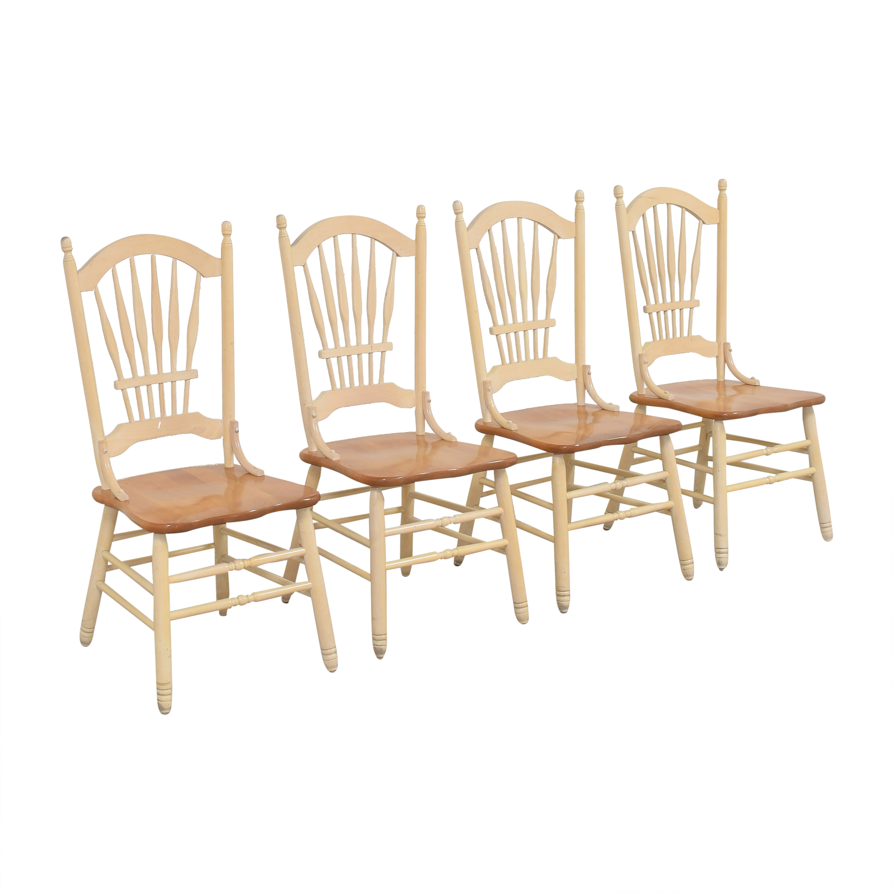 Country White Dining Chairs nj
