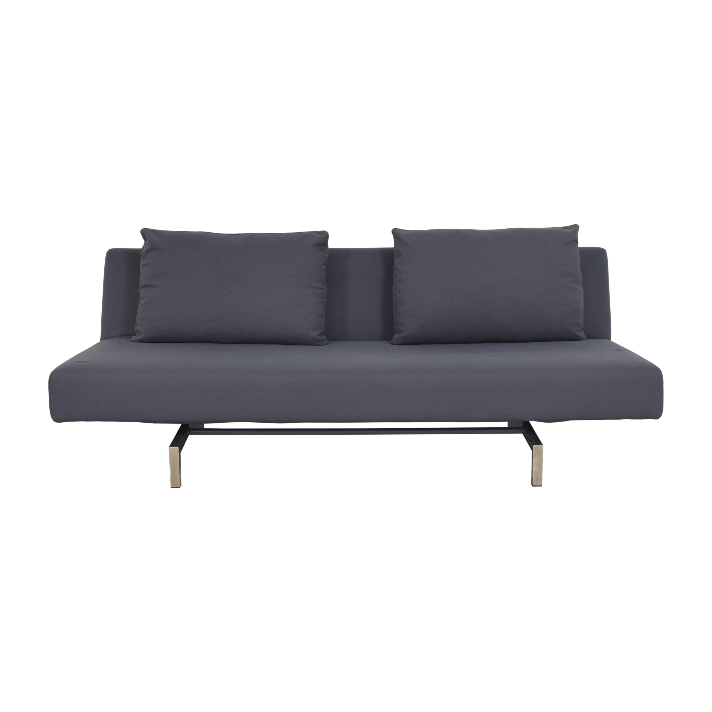 shop Bensen Sleeper Sofa with Two Cushions Bensen Sofas