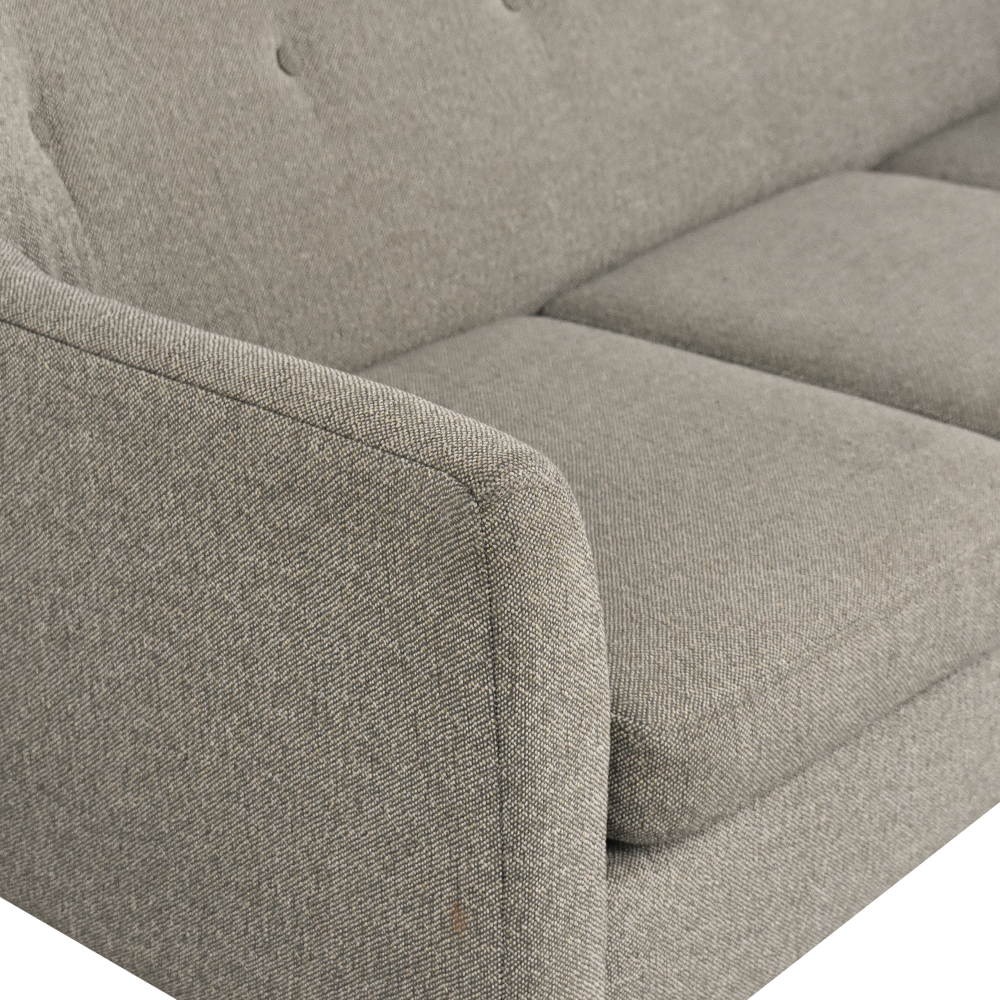 shop Max Home Better By Design Mid Century Modern Sofa Max Home