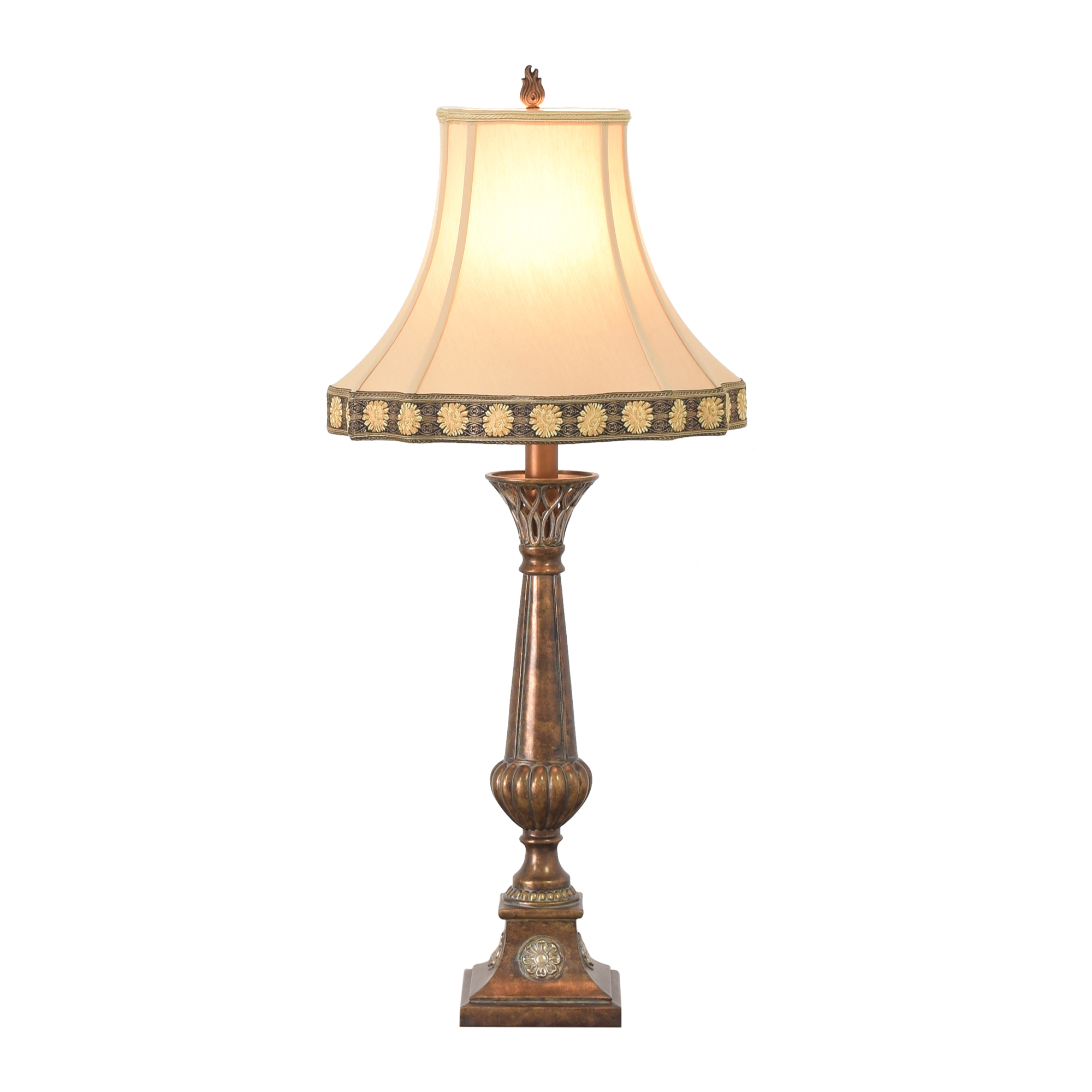 shop Ethan Allen Flame Table Lamp Ethan Allen Lamps