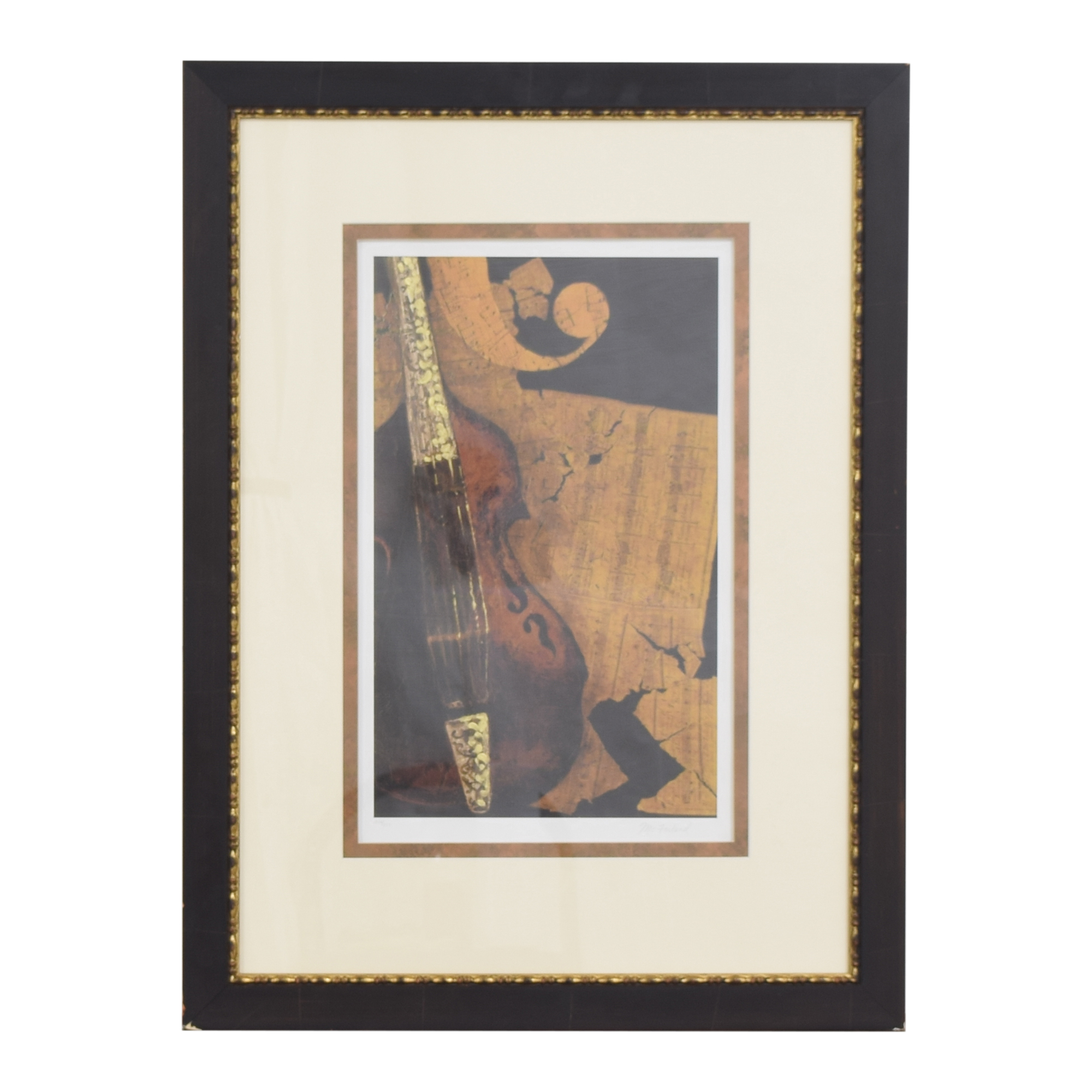 McFarland Antique Melody II Wall Art