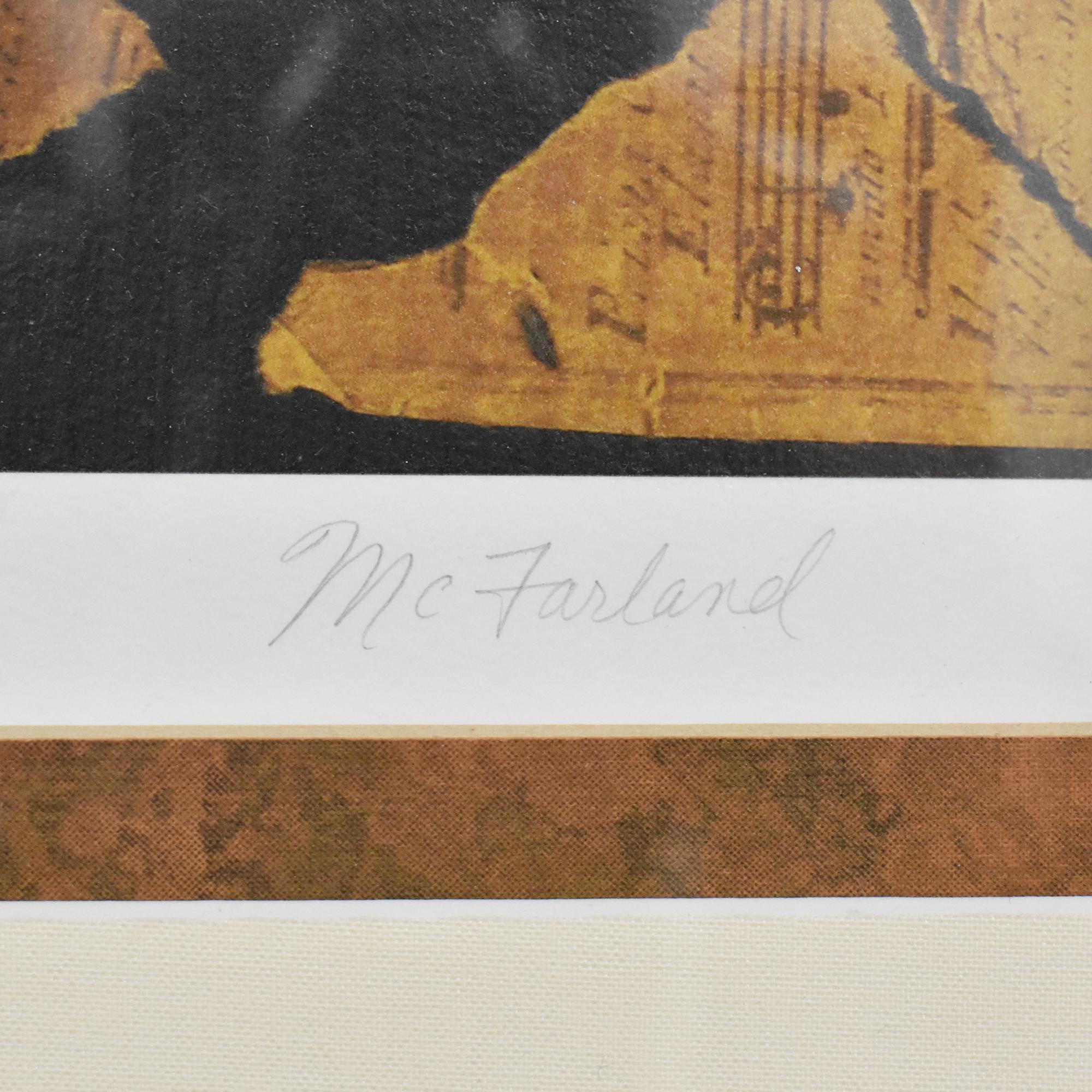 McFarland Antique Melody II Wall Art ma