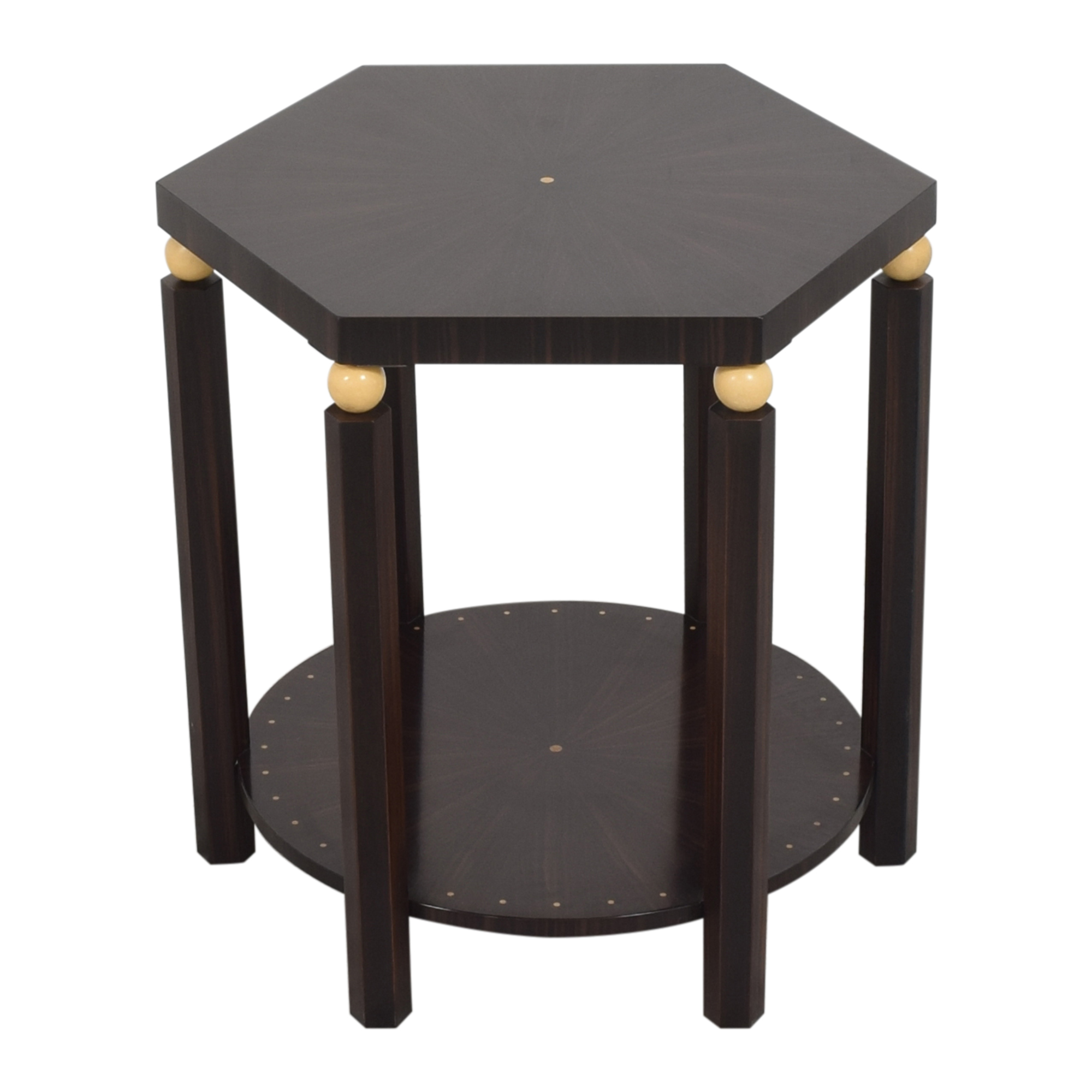 EJ Victor EJ Victor Hexagonal Side Table second hand