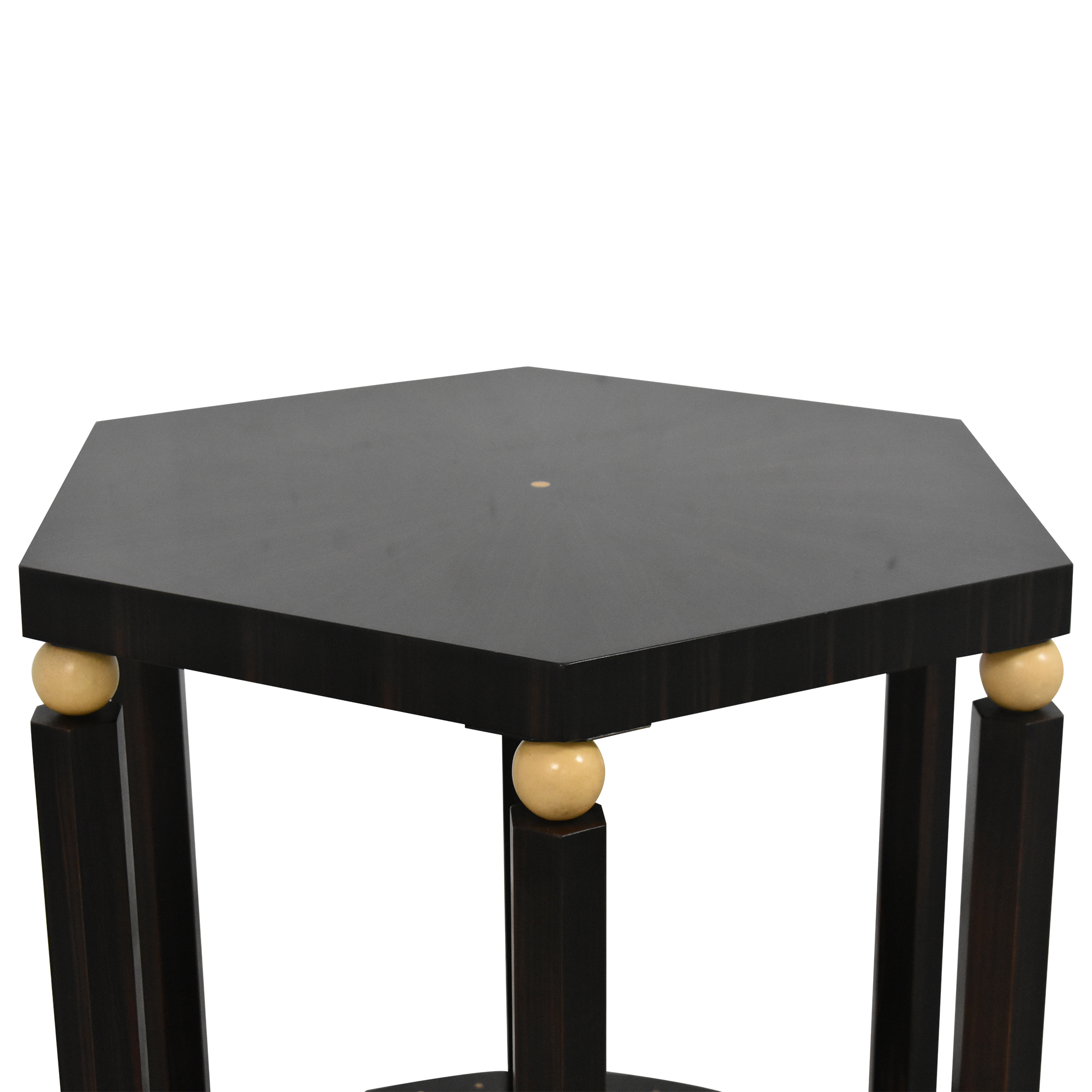 EJ Victor EJ Victor Hexagonal Side Table Accent Tables