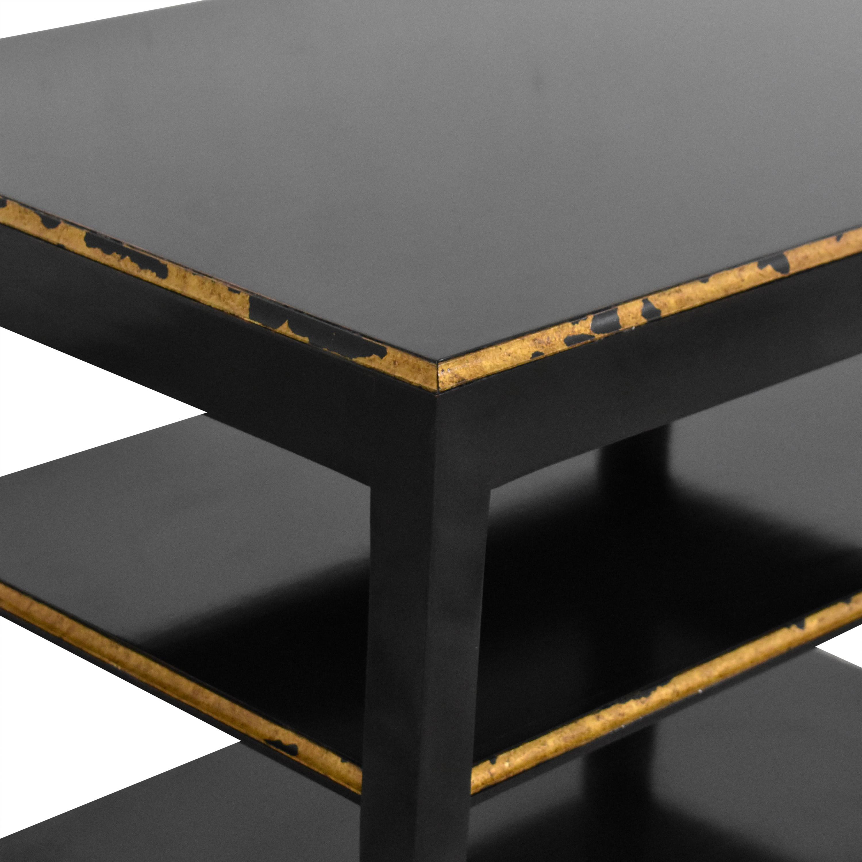Niermann Weeks Niermann Weeks Antiqued Side Table nyc
