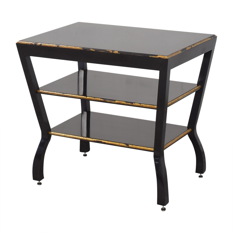 Niermann Weeks Niermann Weeks Antiqued Side Table nj