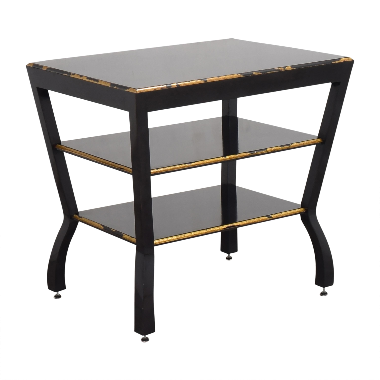 buy Niermann Weeks Antiqued Side Table Niermann Weeks End Tables