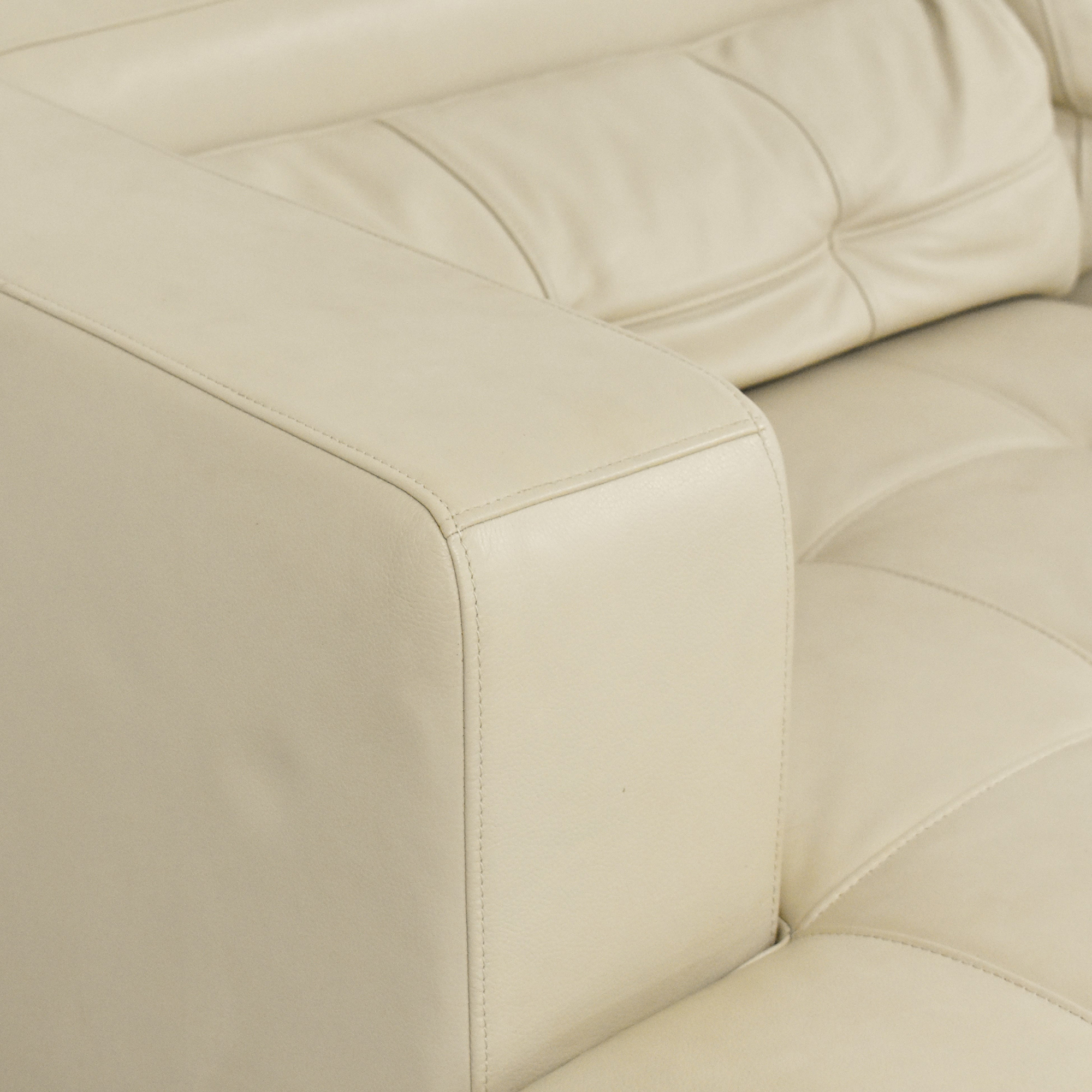 Maurice Villency Maurice Villency Chaise Sectional Sofa nj