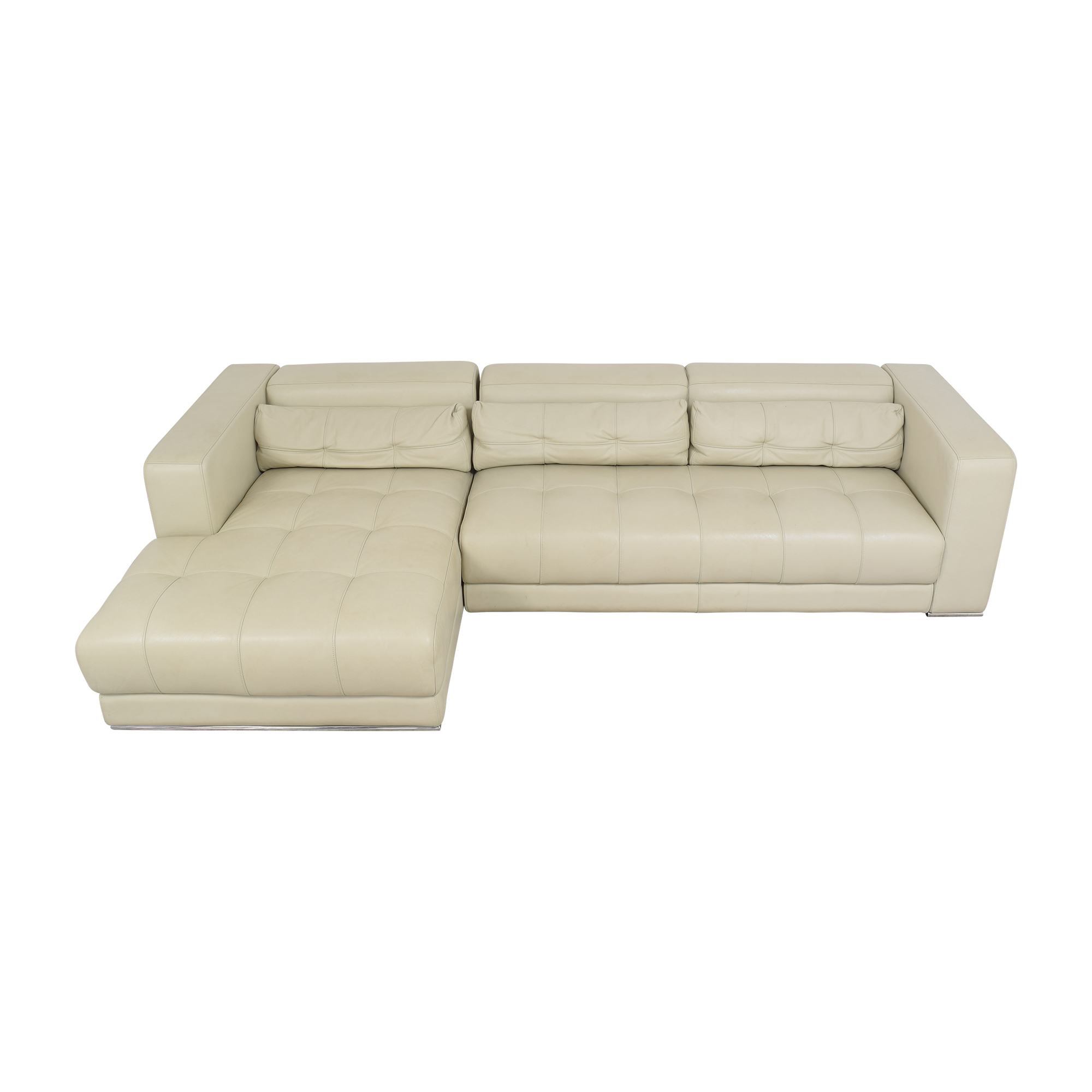 Maurice Villency Chaise Sectional Sofa / Sectionals
