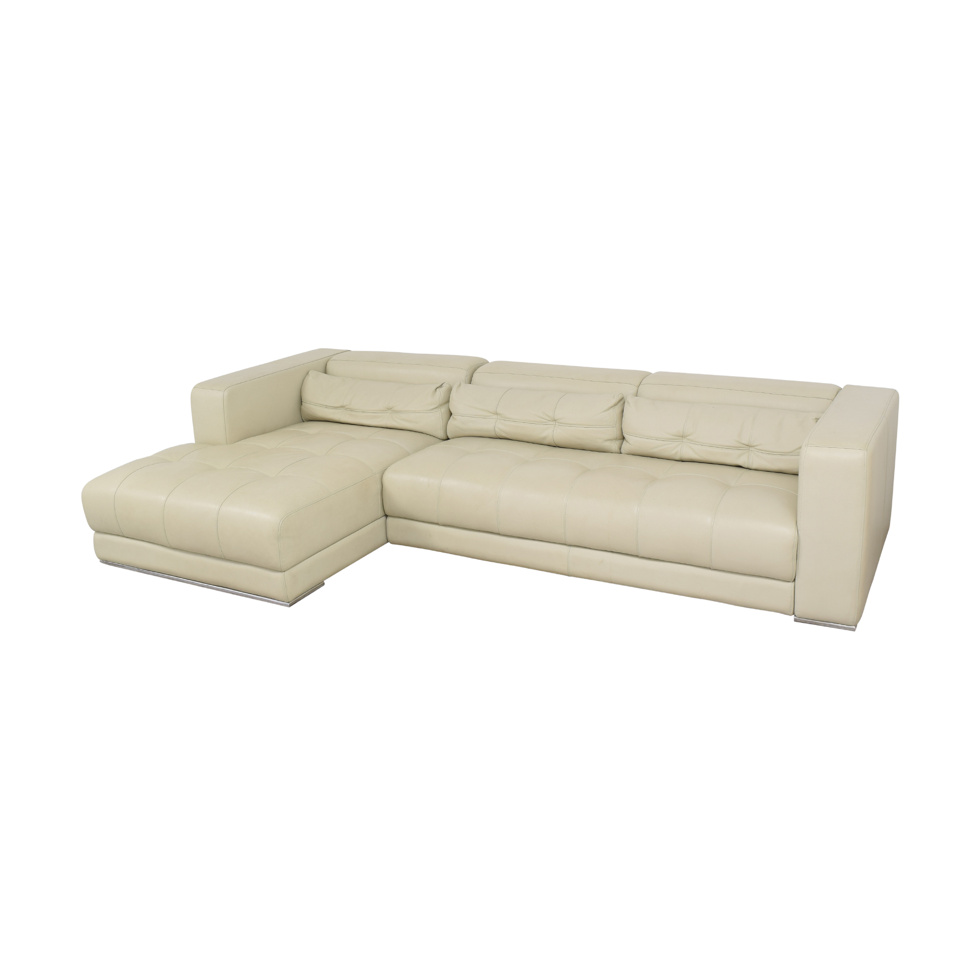 shop Maurice Villency Chaise Sectional Sofa Maurice Villency Sofas