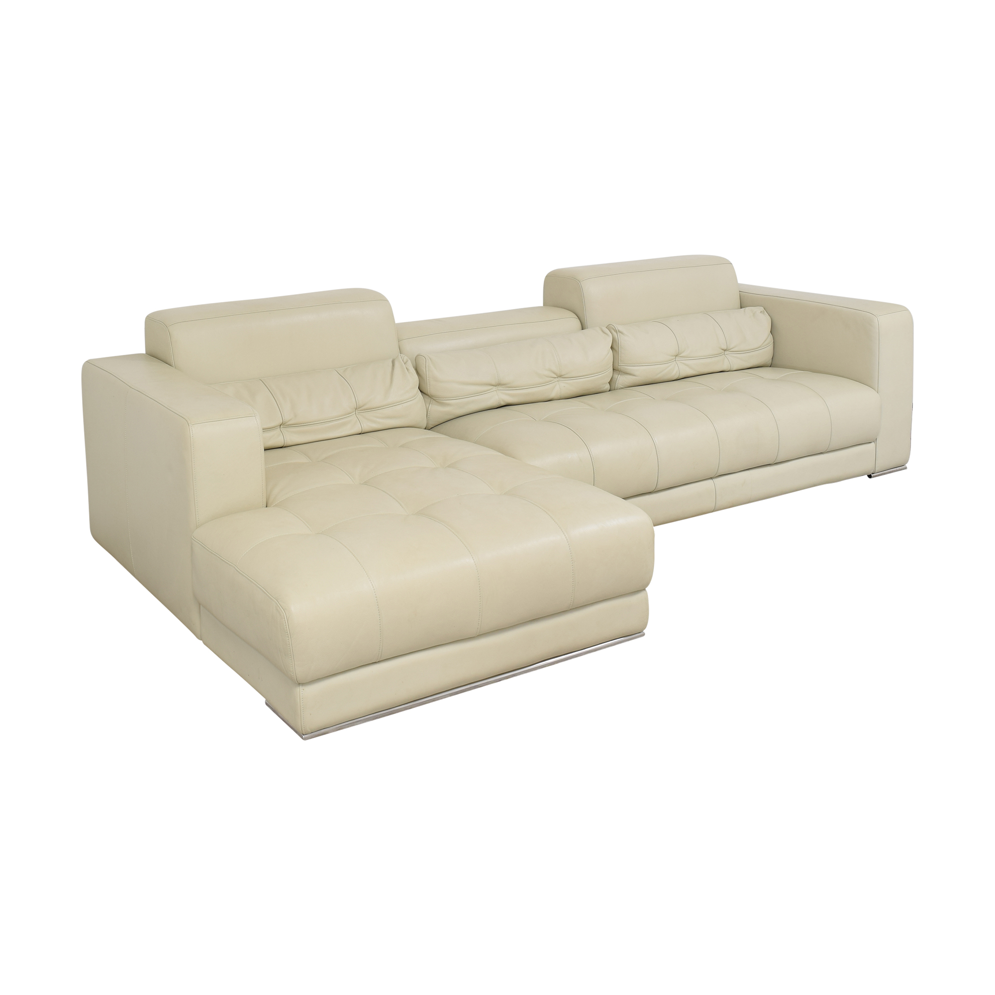 Maurice Villency Maurice Villency Chaise Sectional Sofa pa