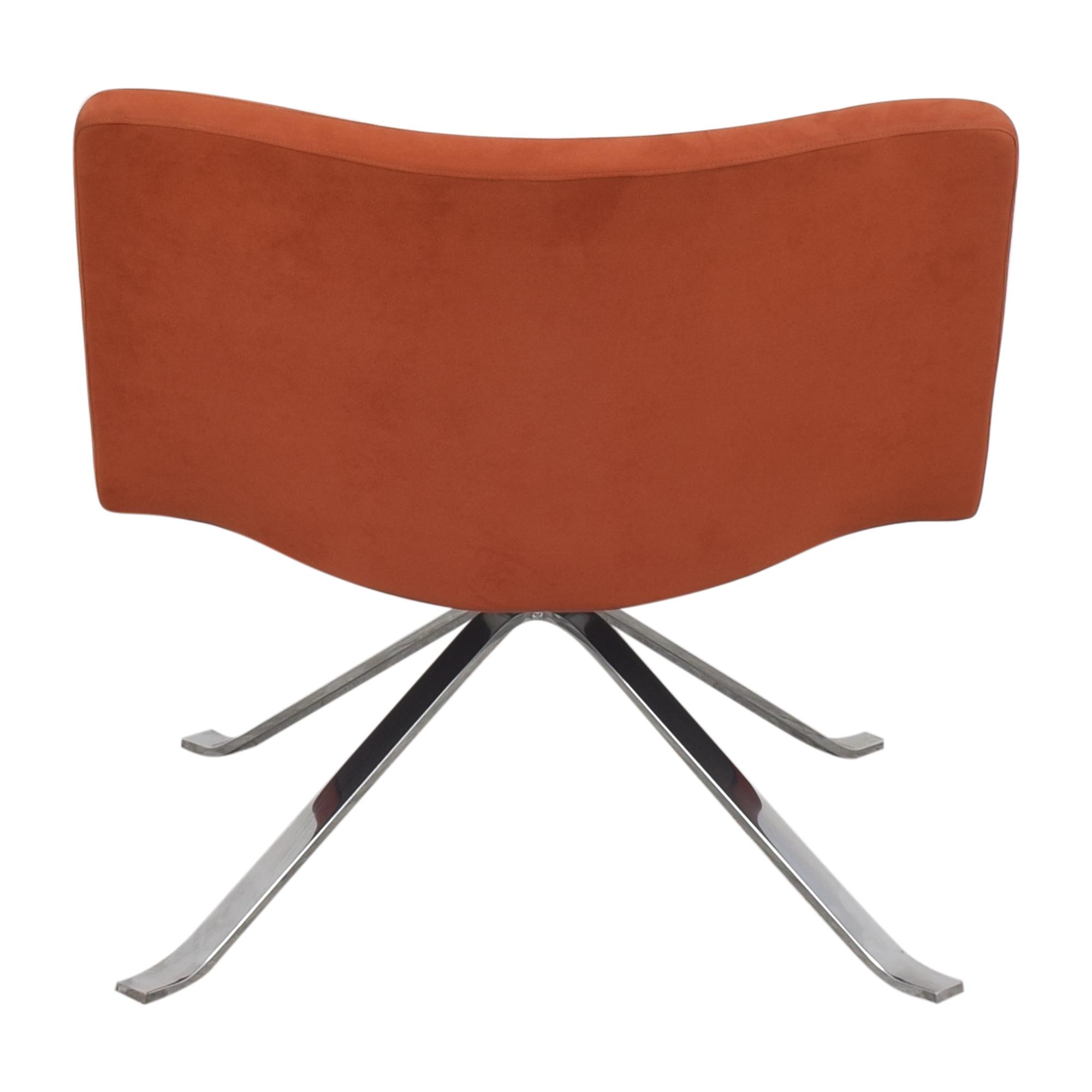 shop Tonon Wave Lounge Spider Base Chair Tonon Chairs