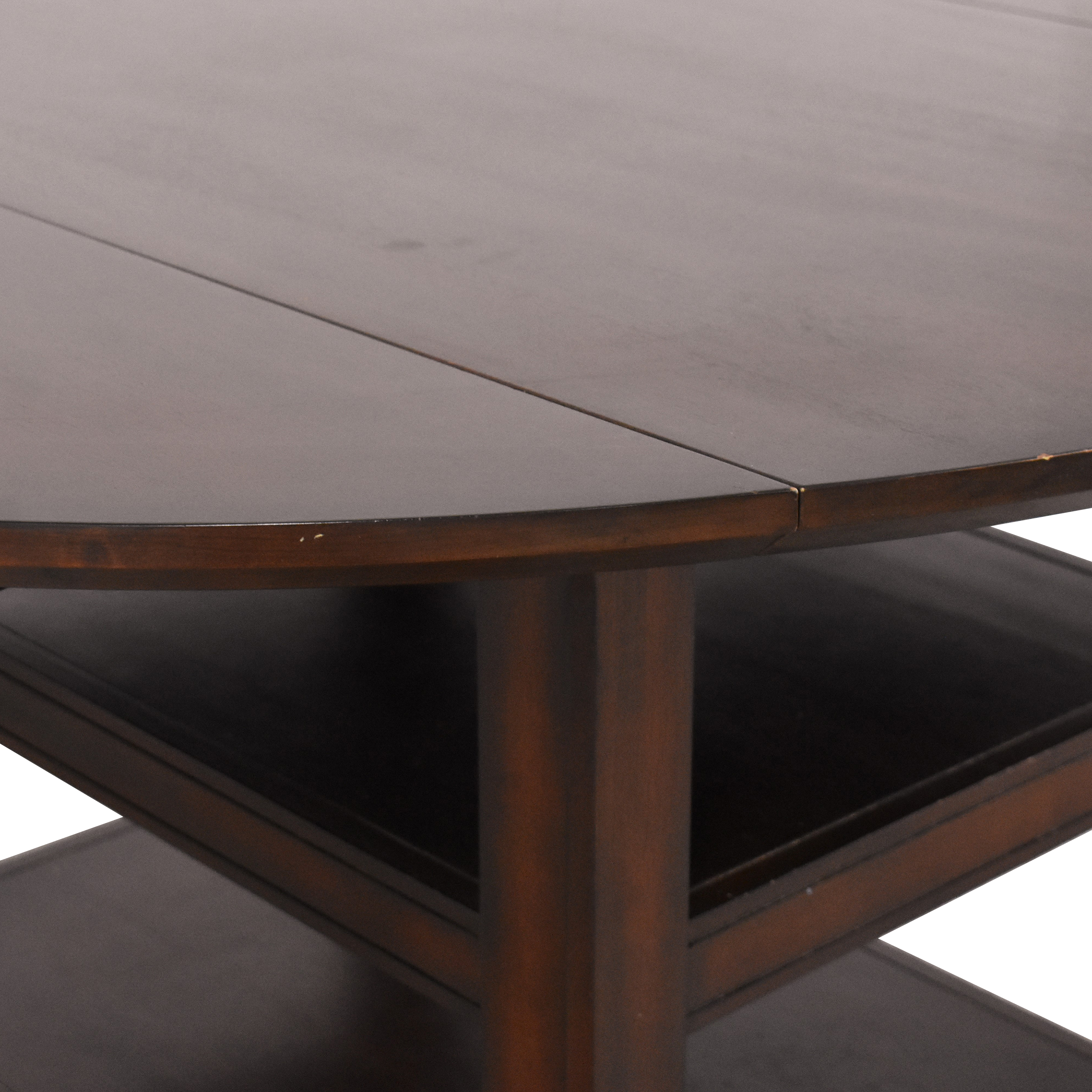 Pottery Barn Pottery Barn Shayne Round Drop Leaf Dining Table used