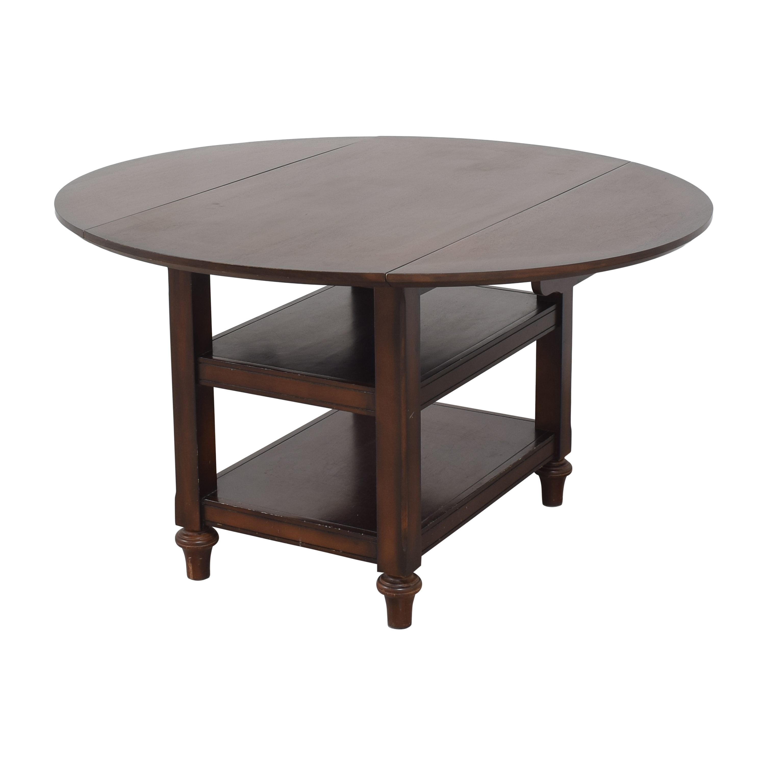 buy Pottery Barn Pottery Barn Shayne Round Drop Leaf Dining Table online