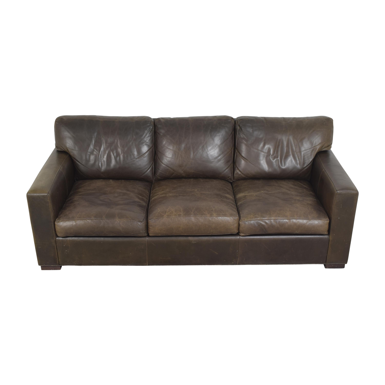 Crate & Barrel Axis II Three Seat Sofa sale
