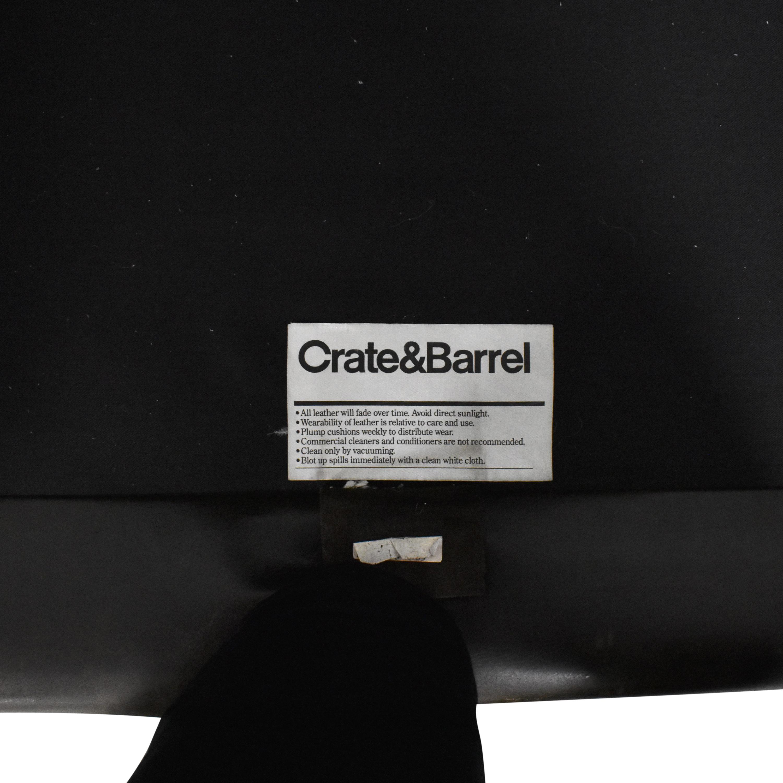 shop Crate & Barrel Axis II Three Seat Sofa Crate & Barrel
