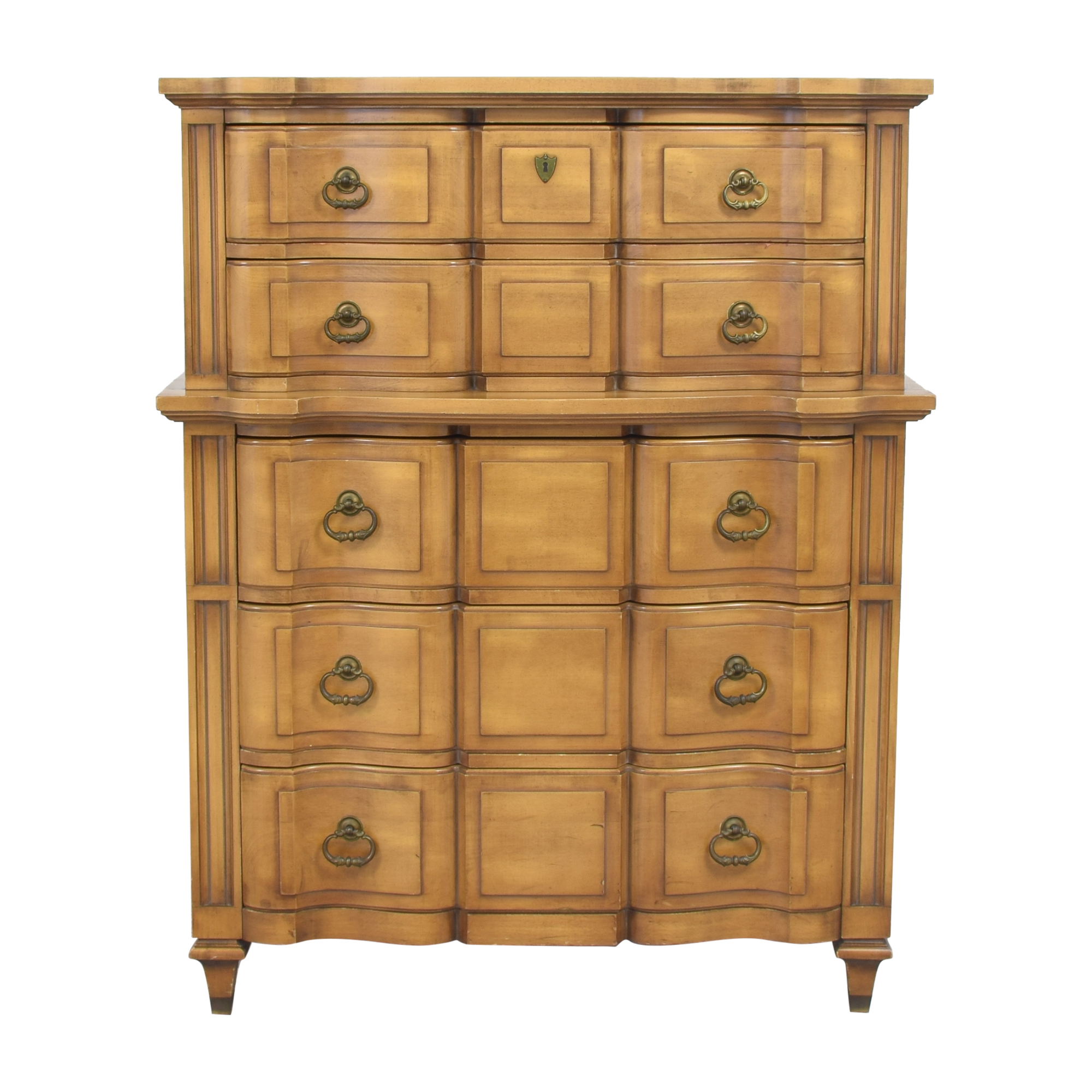 Five Drawer Highboy Chest for sale