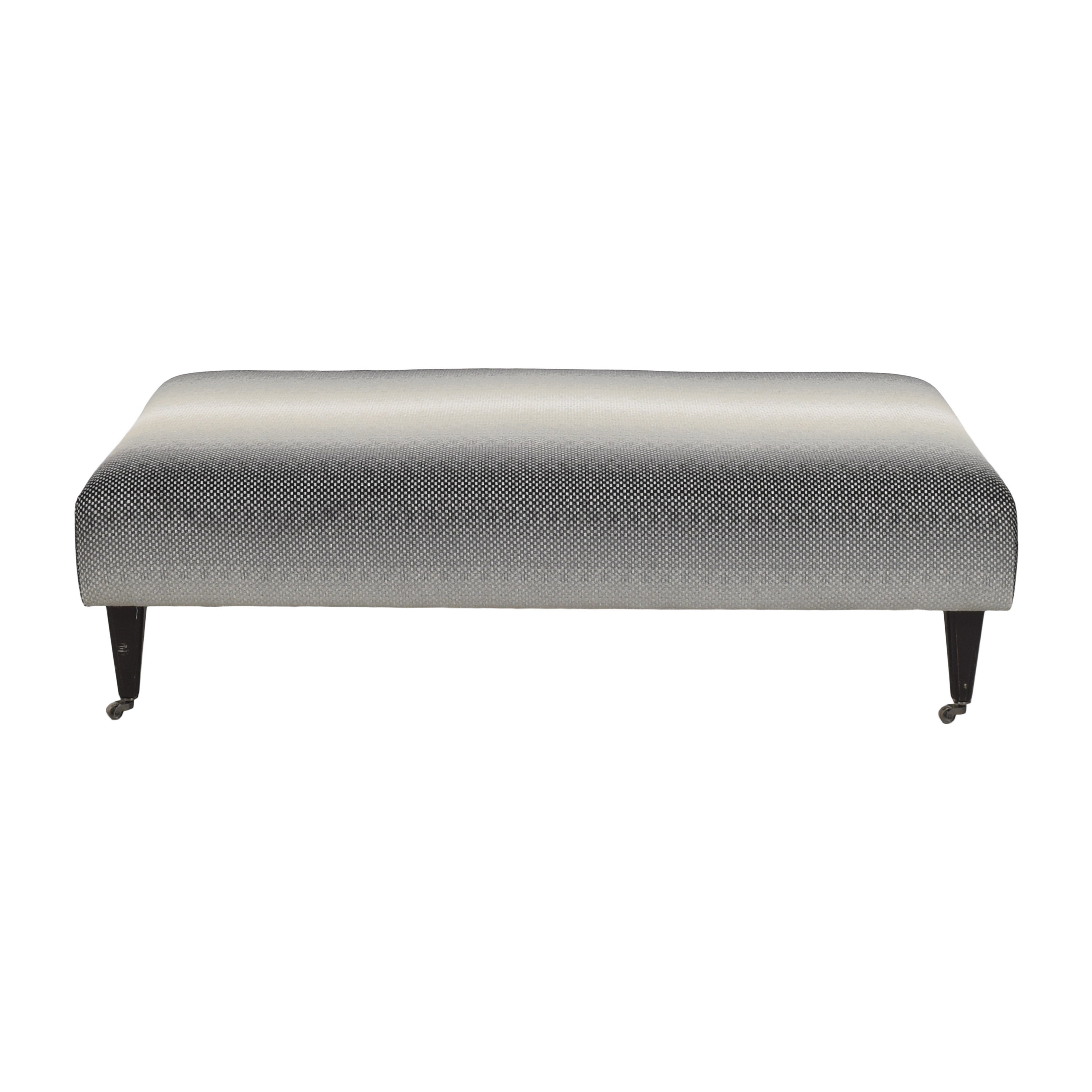 Gradient Upholstered Ottoman ma
