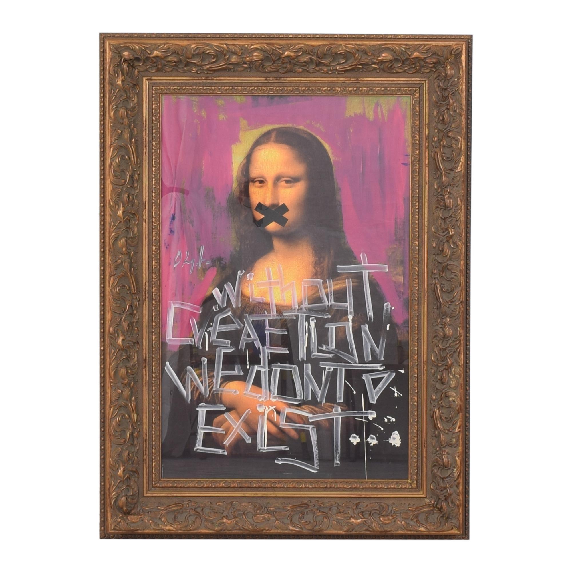 Domingo Zapata Mona Lisa Art