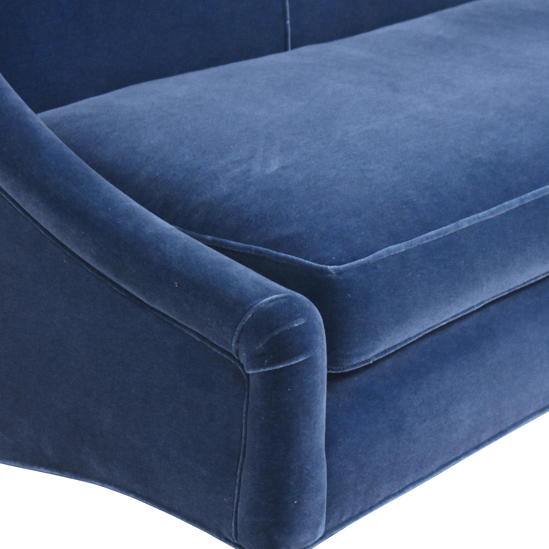 Beckenstein Beckenstein Slope Arm Sofa pa
