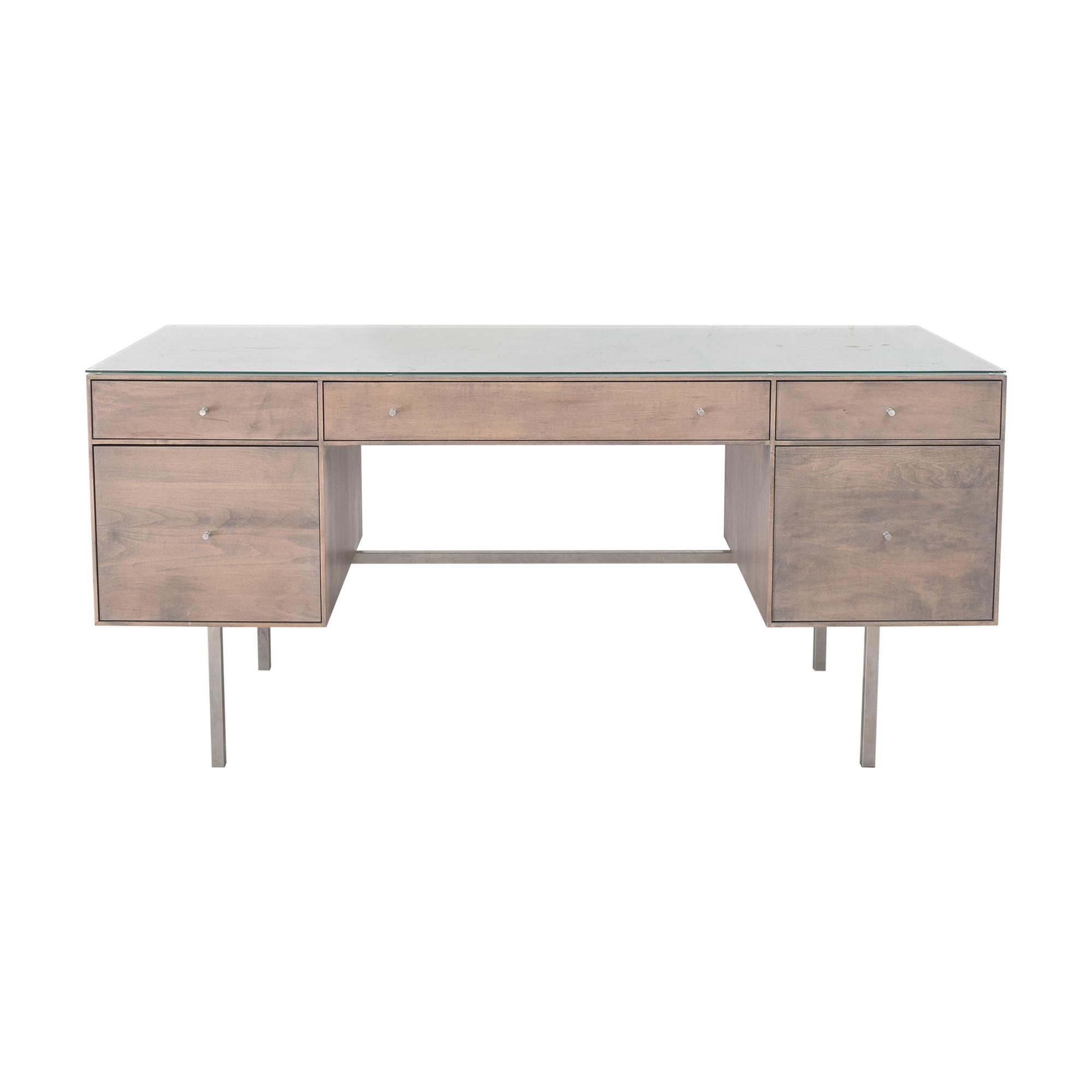 buy Room & Board Room & Board Hudson Double File Drawer Desk online