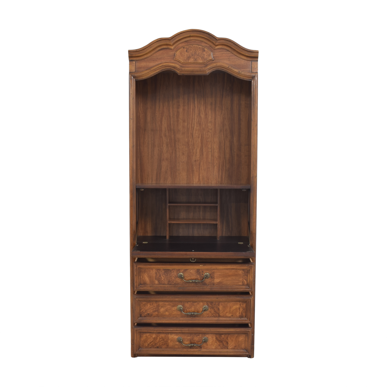 shop Drexel Heritage Secretary Cabinet Drexel Bookcases & Shelving