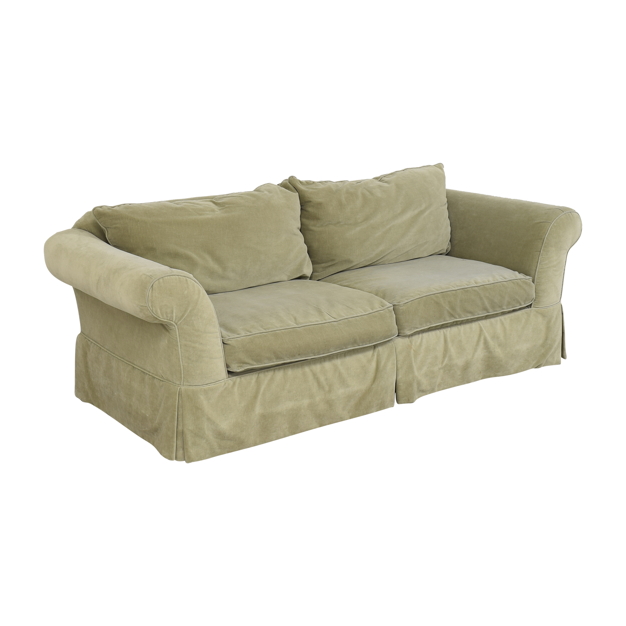Southern Furniture of Conover Southern of Conover Roll Arm Sofa ma