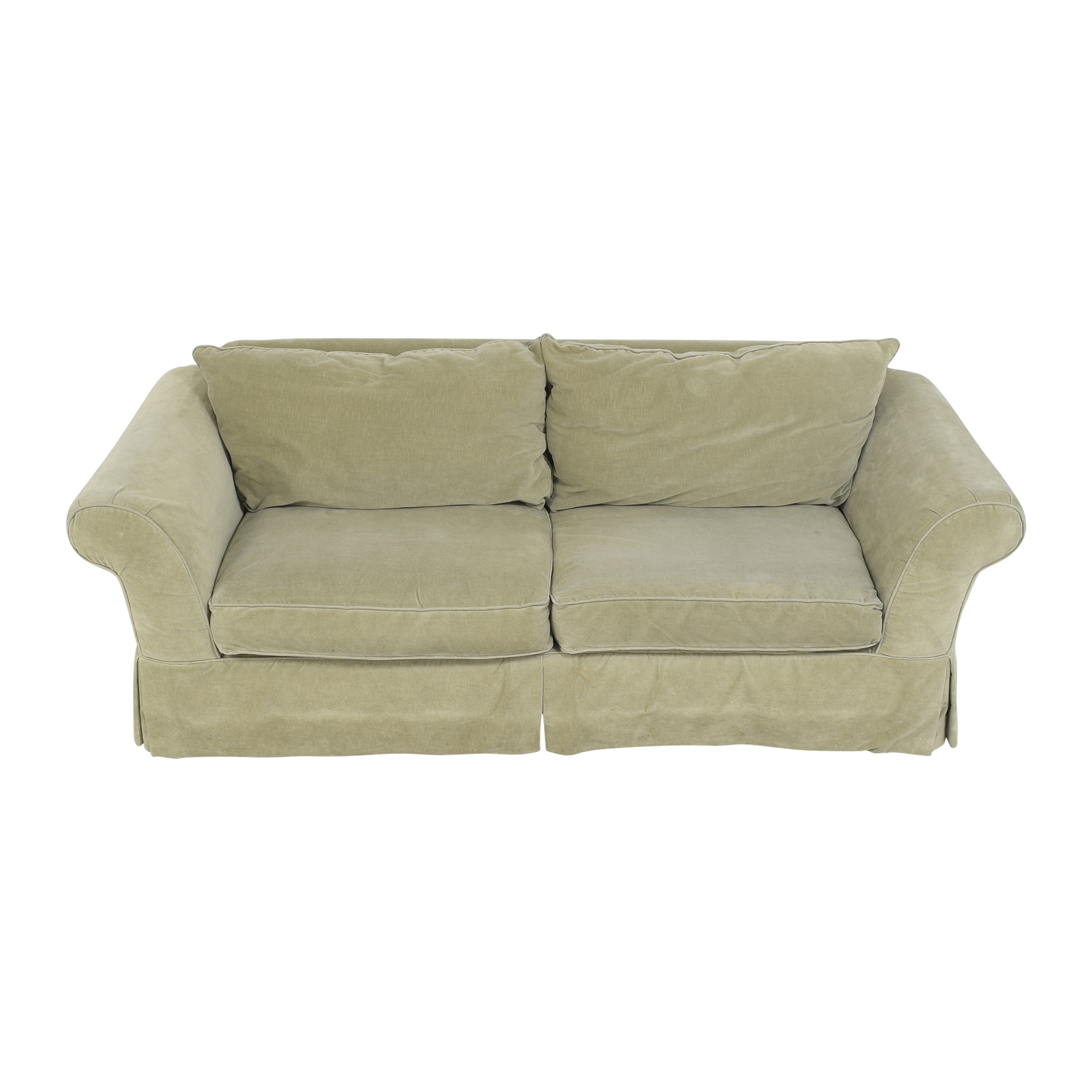 buy Southern of Conover Roll Arm Sofa Southern Furniture of Conover