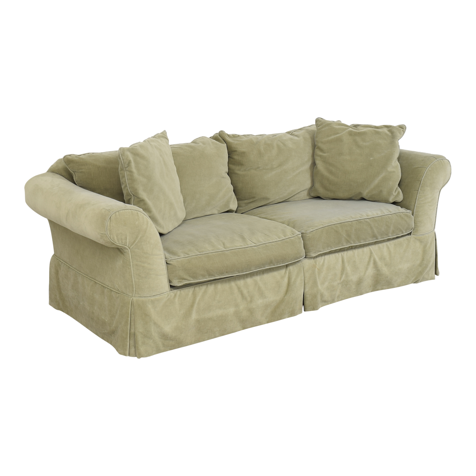 buy Southern of Conover Roll Arm Sofa Southern Furniture of Conover Sofas