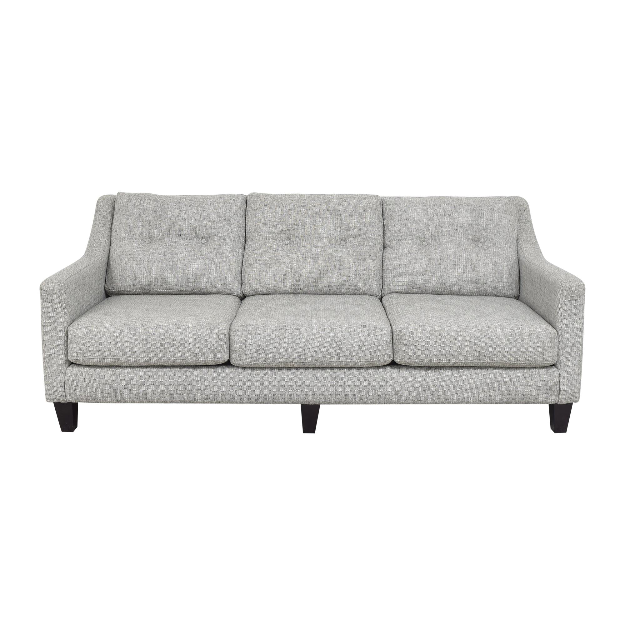Raymour & Flanigan Raymour & Flanigan Three Cushion Sofa discount