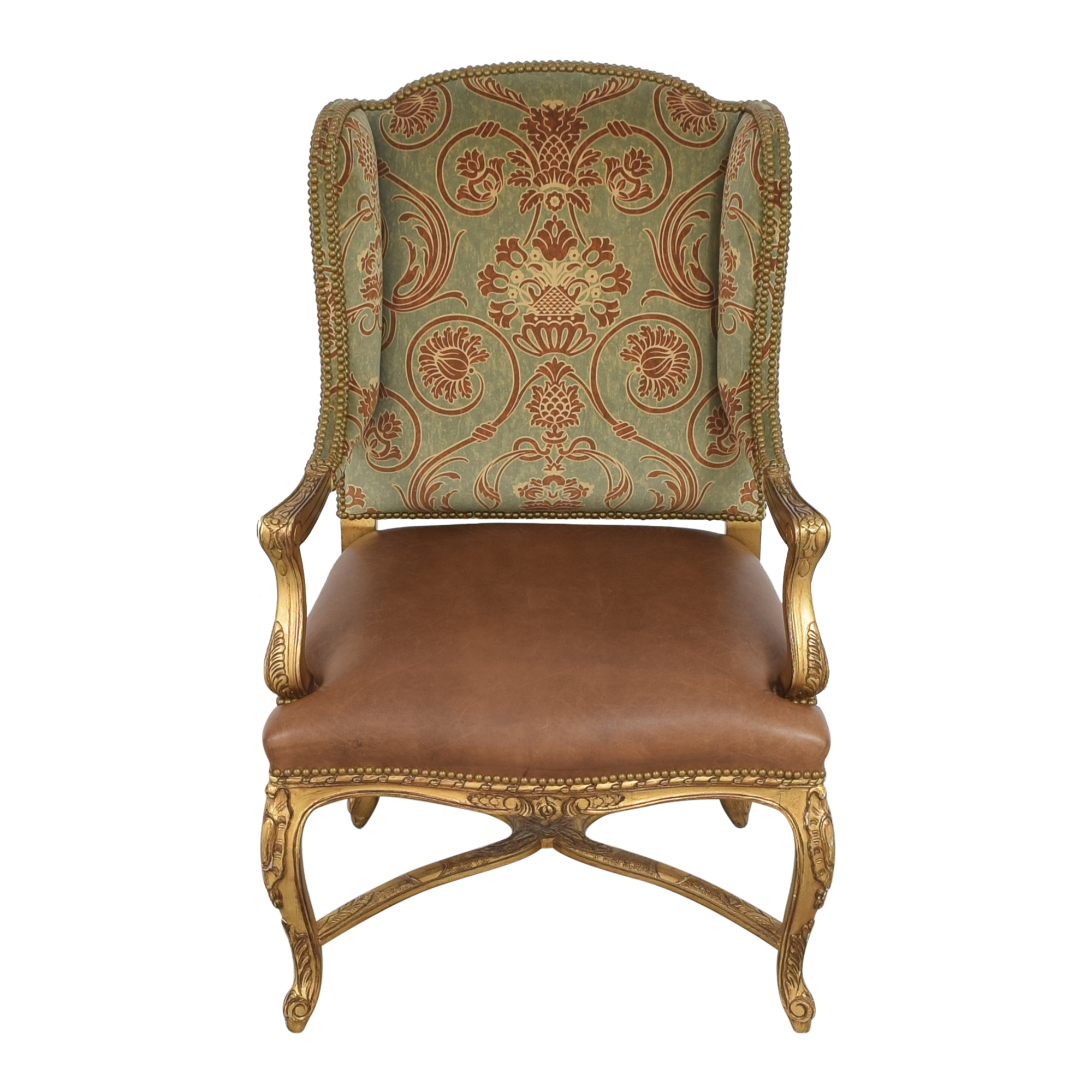 French-Style Wing Back Arm Chair / Chairs