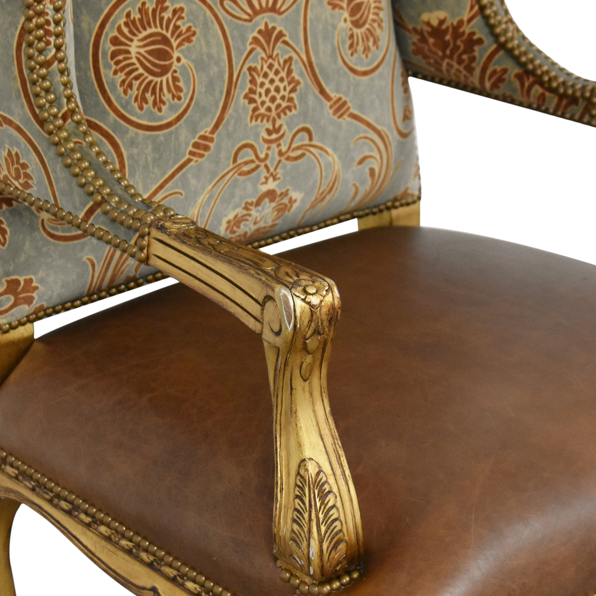 buy French-Style Wing Back Arm Chair